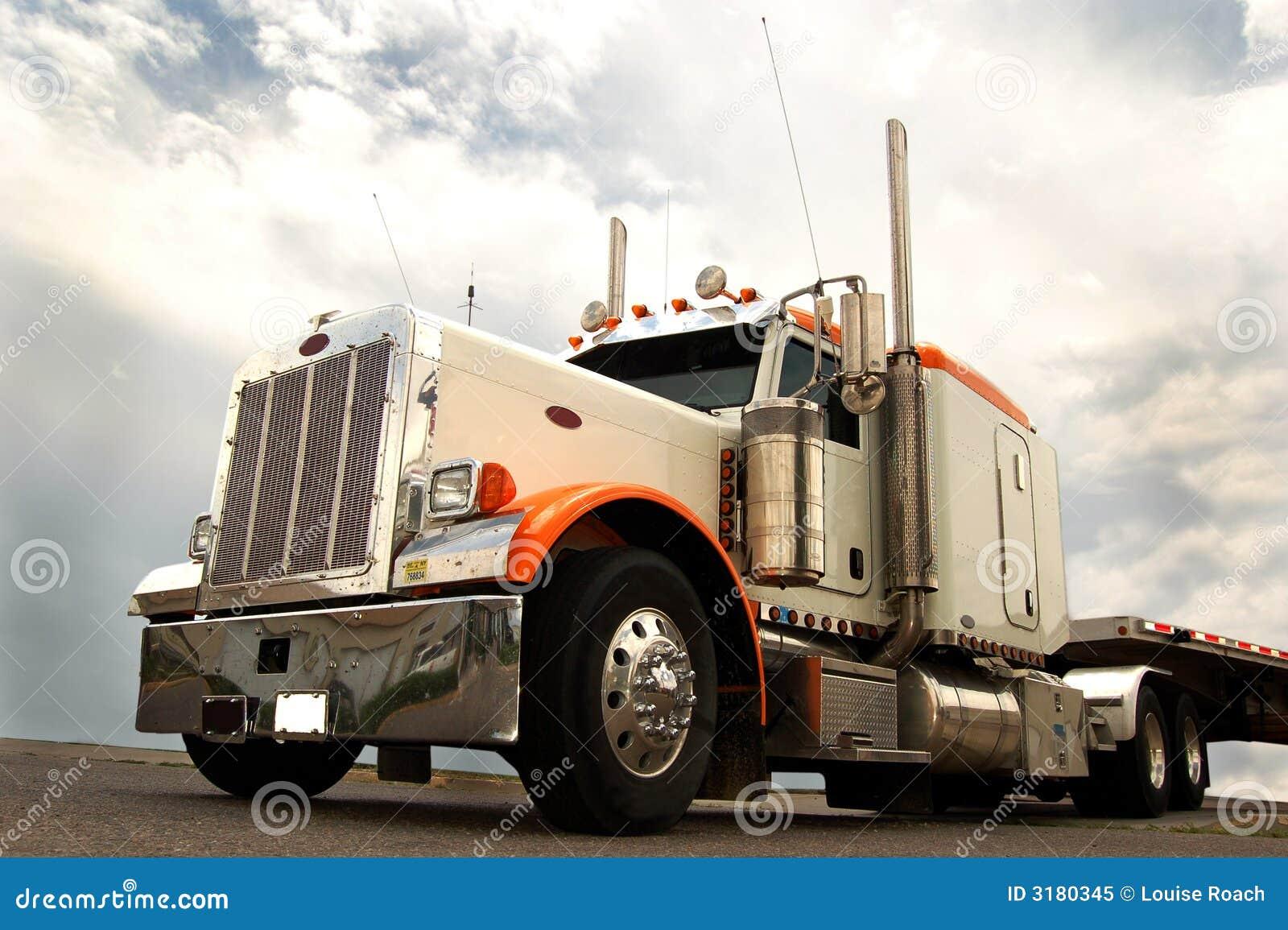 μακρύ truck έλξης