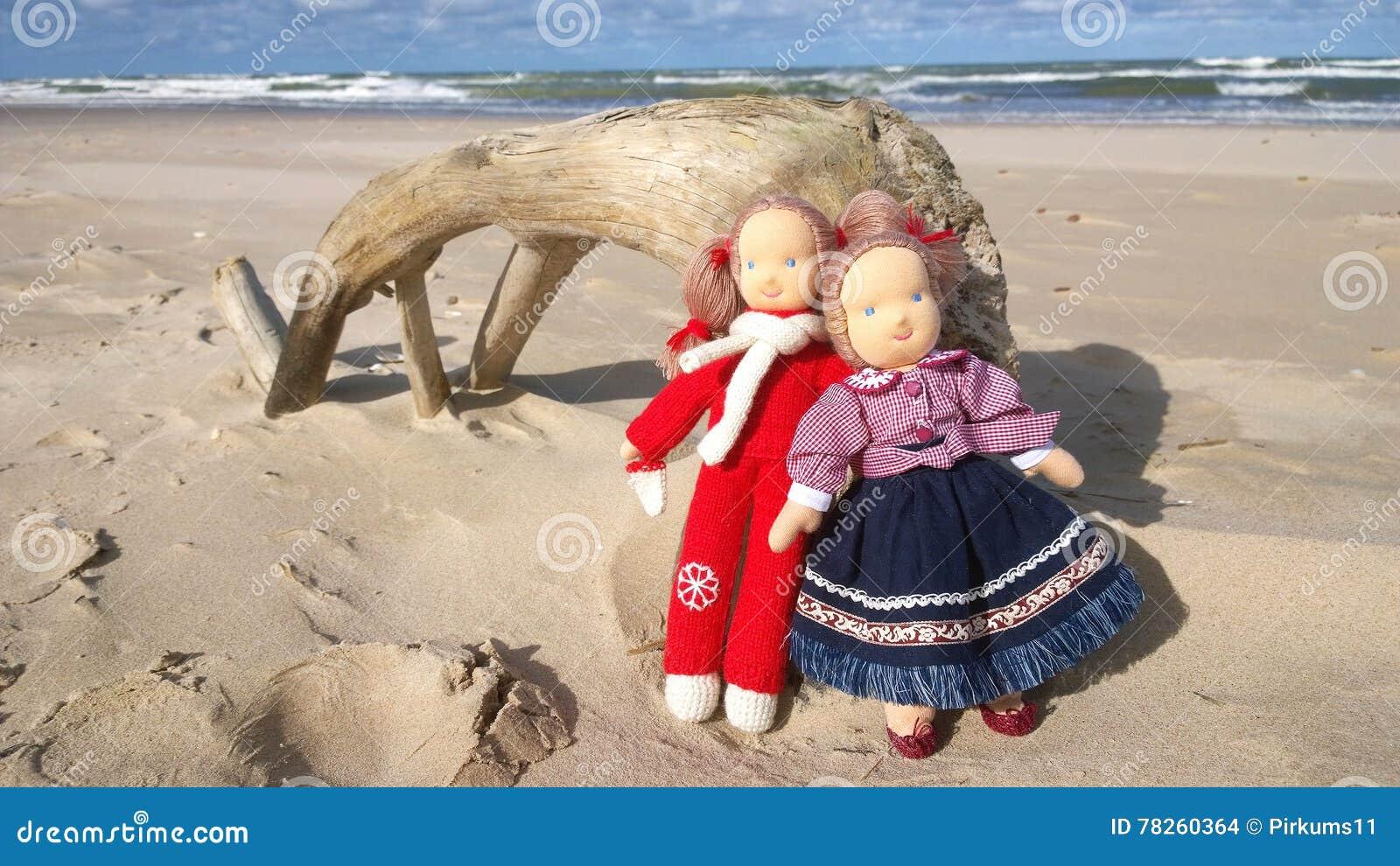 μαριονέτες Παραλία άμμου