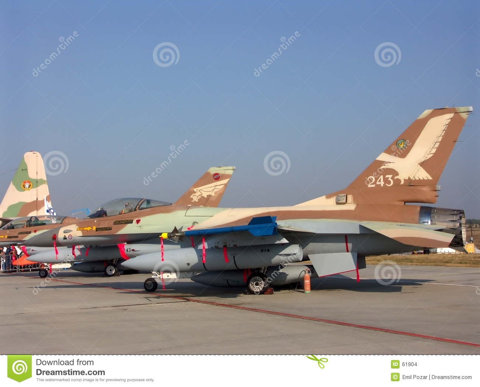 μαχητής Ισραηλίτης F-16