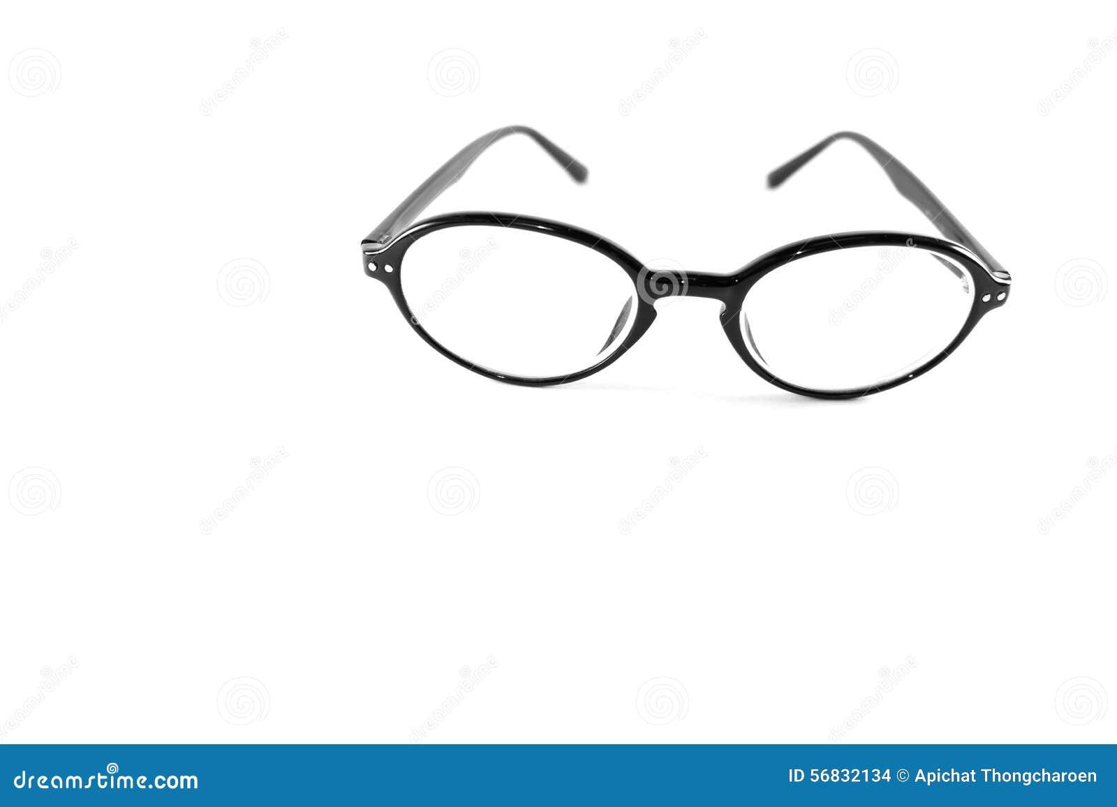 Μαύρα γυαλιά στο άσπρο υπόβαθρο