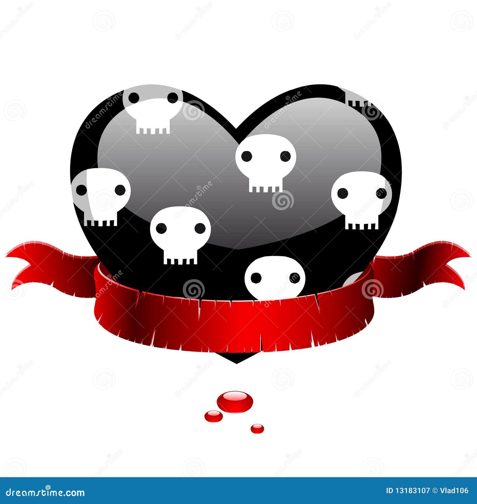 μαύρη κόκκινη κορδέλλα κα&r