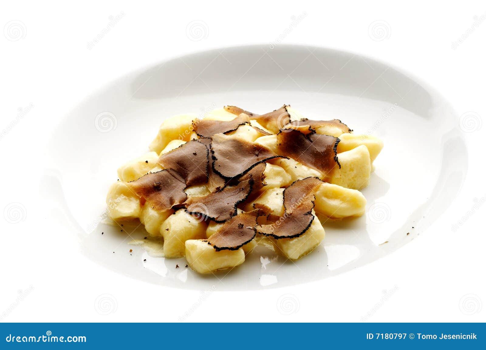 μαύρη τρούφα ζυμαρικών