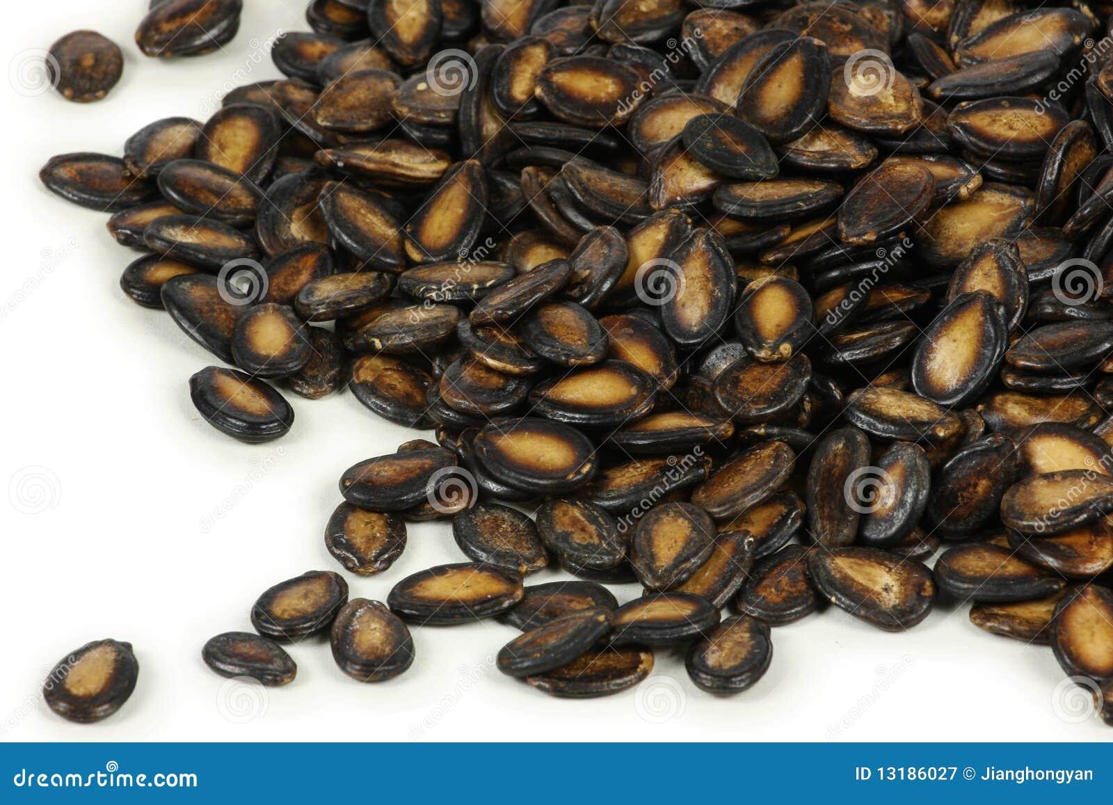 μαύροι σπόροι πεπονιών