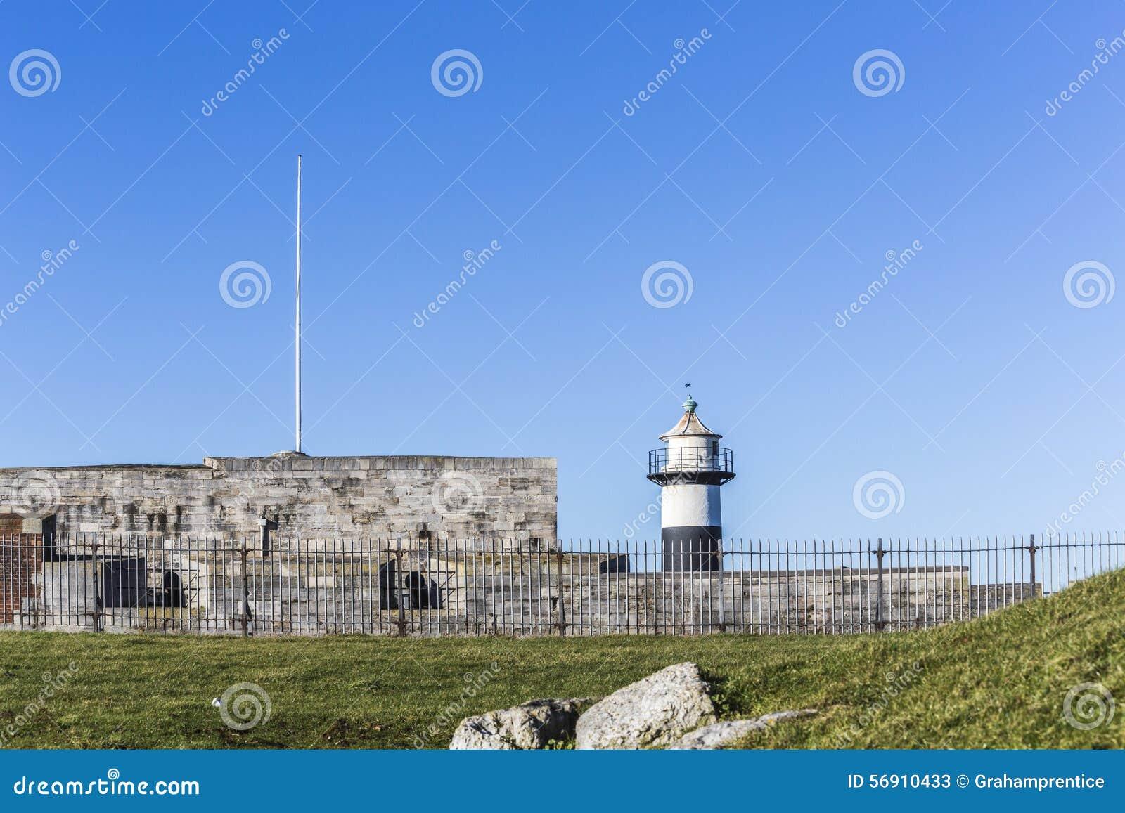 Μαύρος & άσπρος φάρος, Southsea Castle