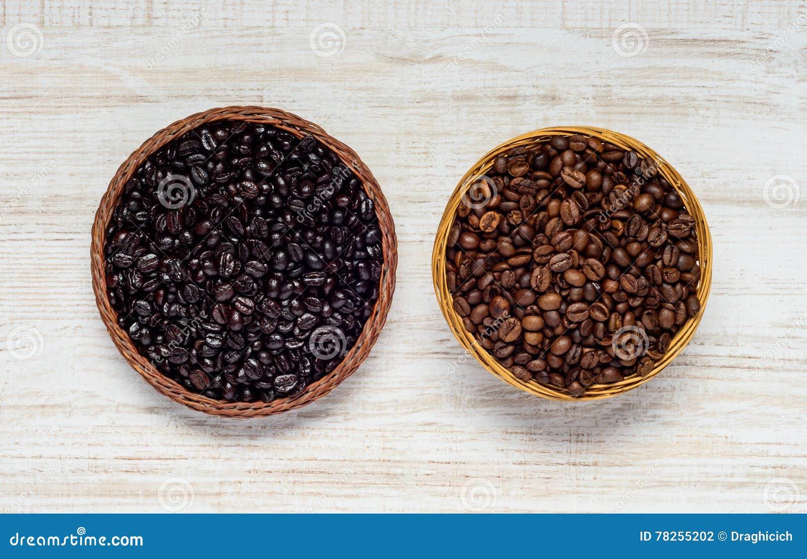 μαύρος καφετής καφές φασ&omi