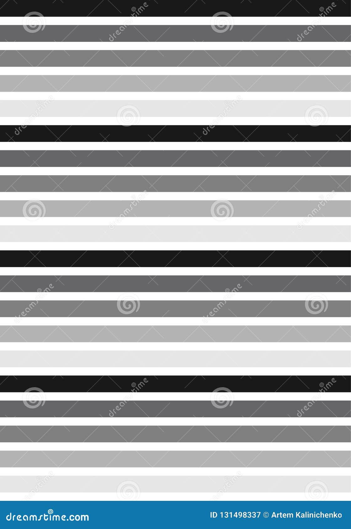 Μαύρο & άσπρο σχέδιο λωρίδων