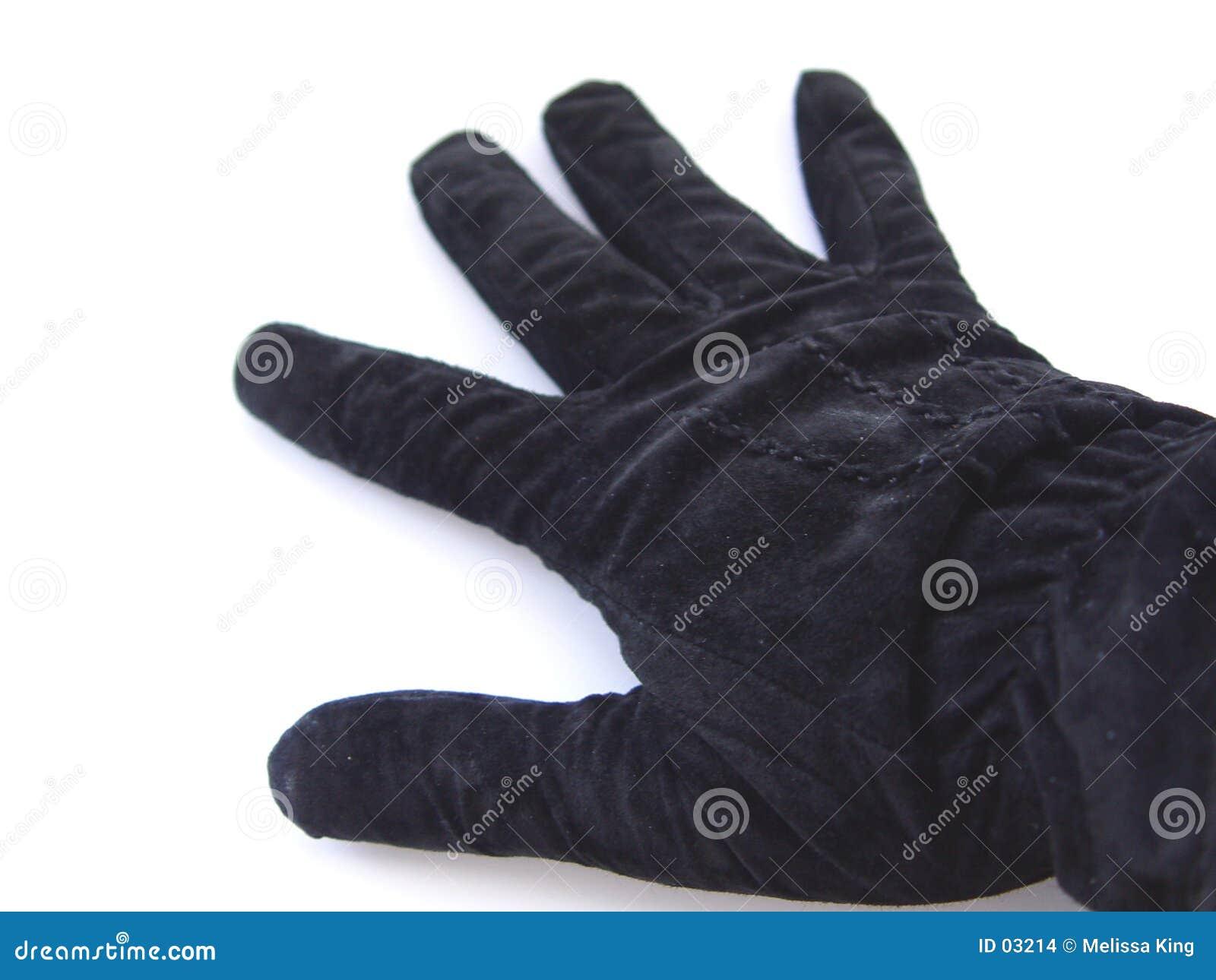 μαύρο γάντι