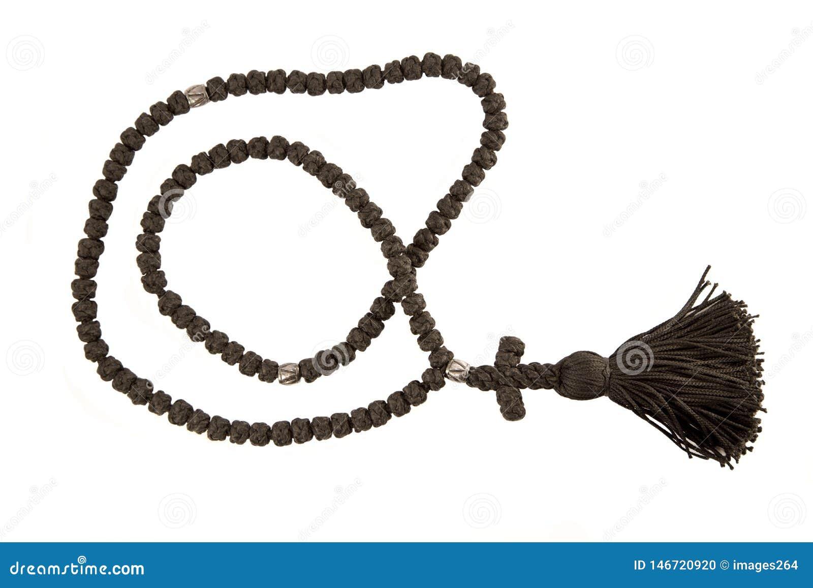 Μαύρο ορθόδοξο rosary