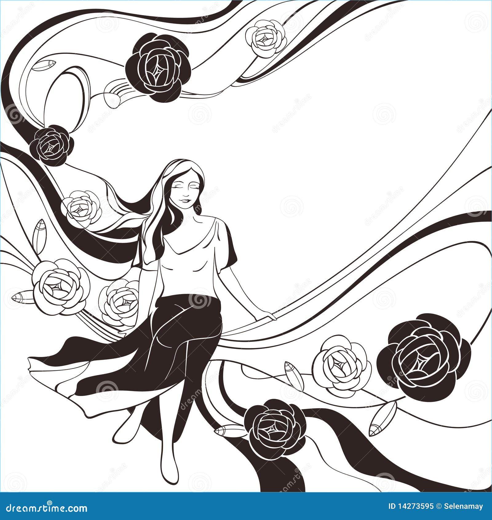 μαύρο ρομαντικό λευκό καρ