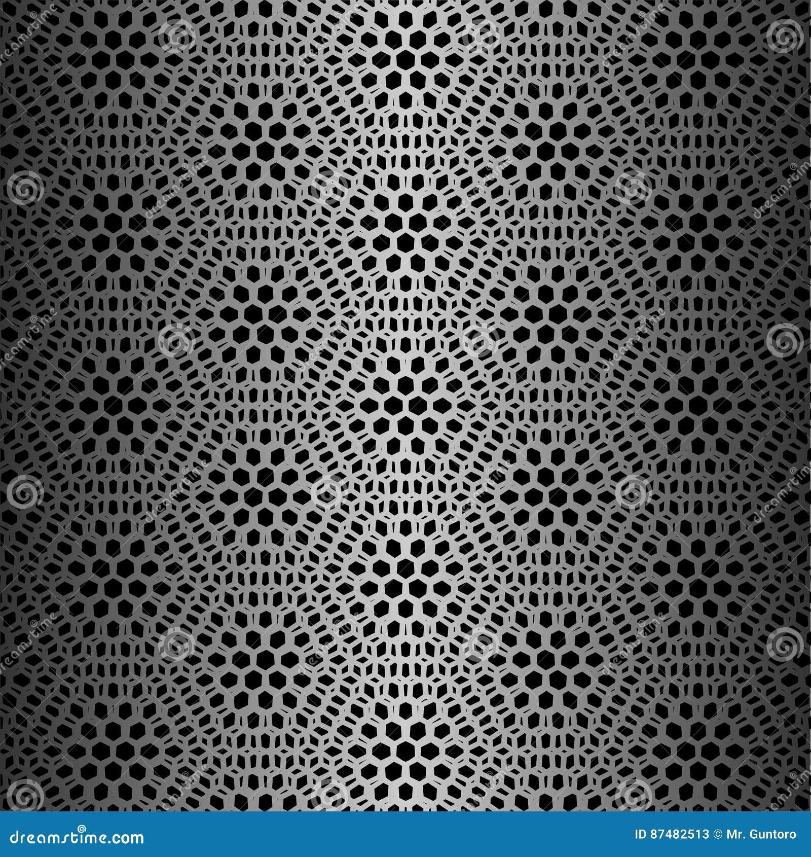 Μαύρο hexagon σχέδιο