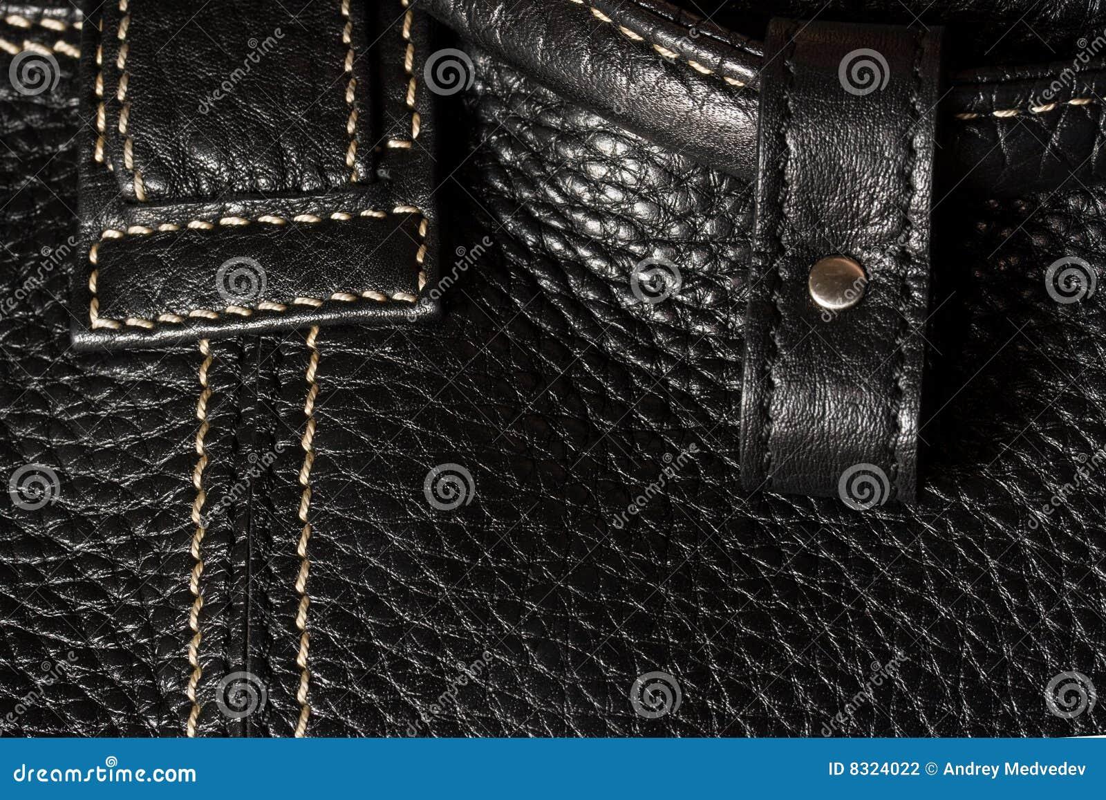 μαύρο leathe