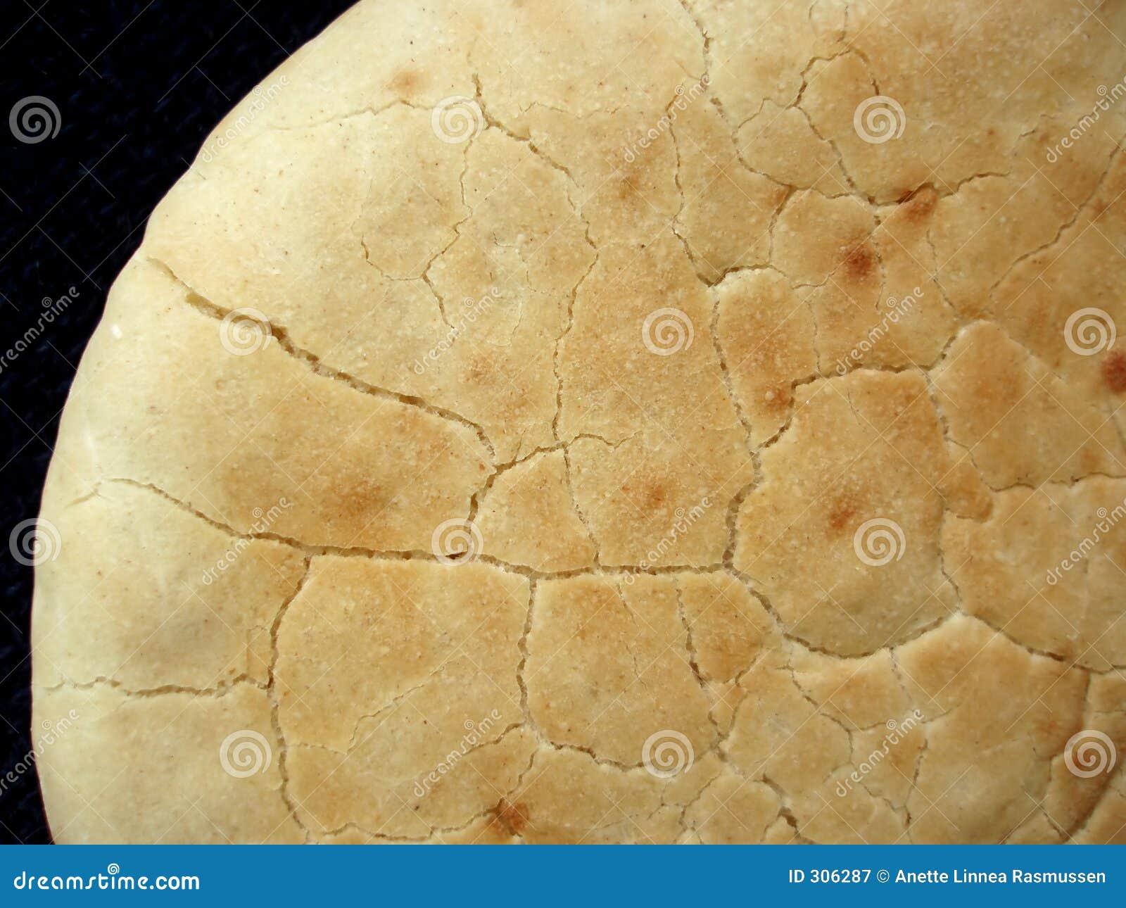 μαύρο pita ψωμιού ανασκόπησης