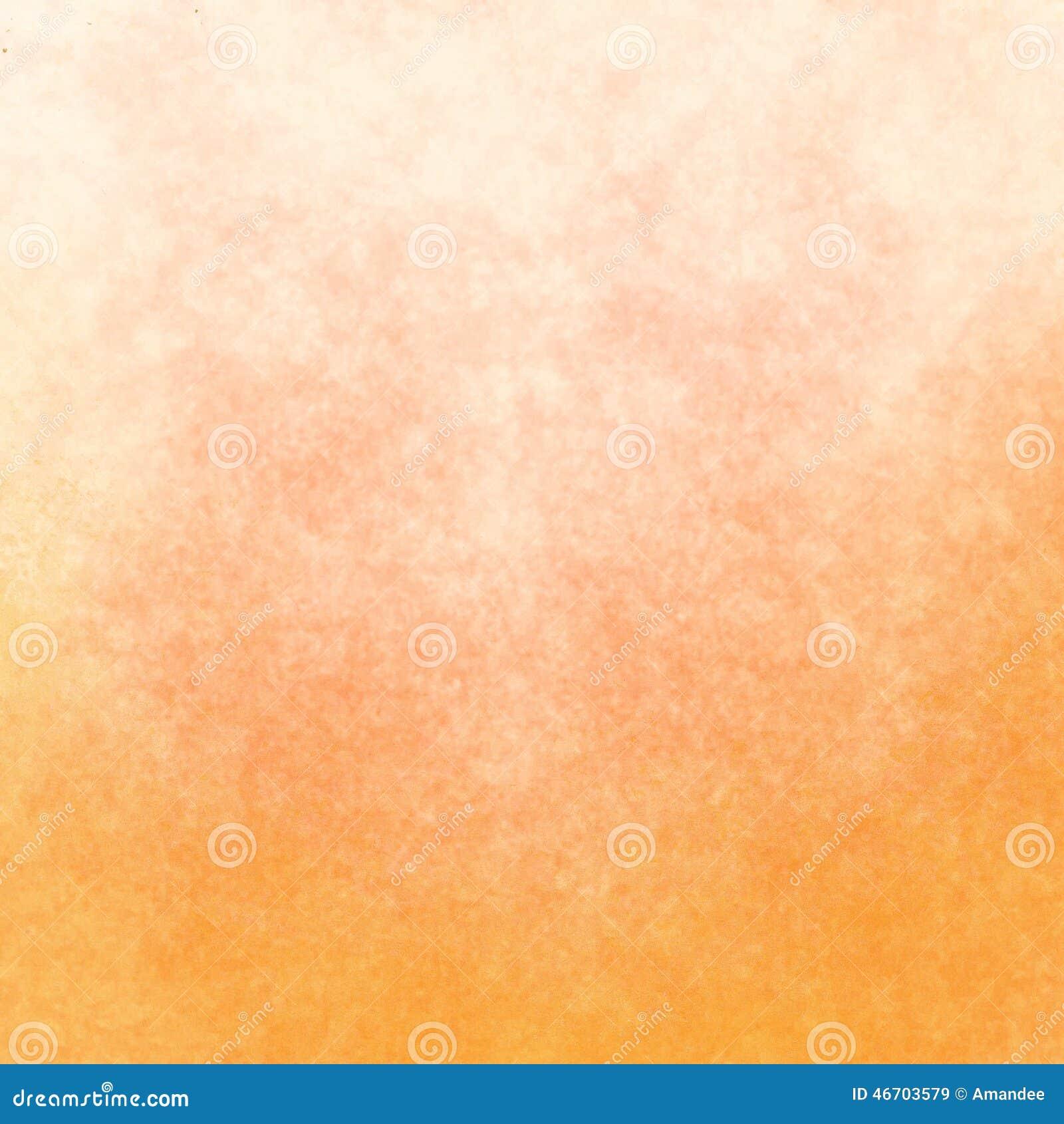 Μαλακός κίτρινος κλίσης στο πορτοκαλί υπόβαθρο χρώματος με το σχέδιο σύστασης, θερμά χρώματα υποβάθρου φθινοπώρου