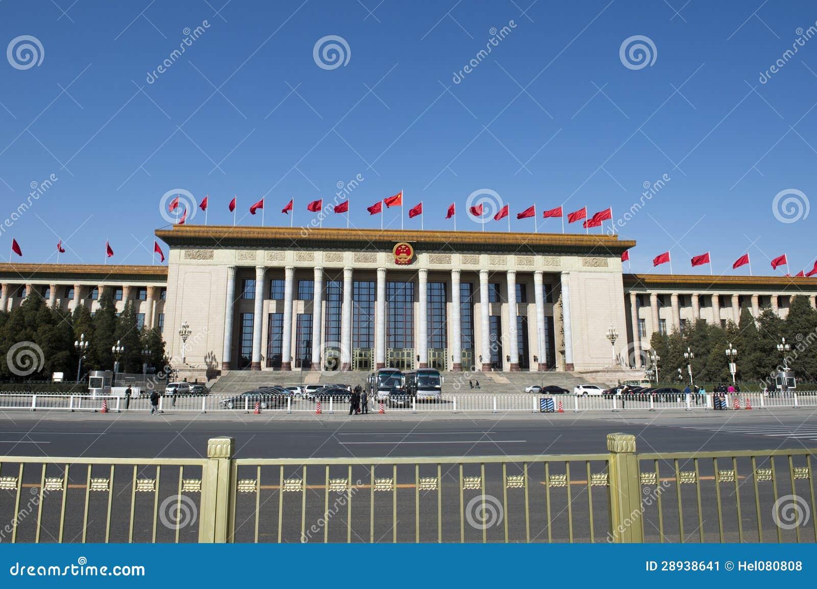 Μεγάλη αίθουσα των ανθρώπων, Πεκίνο