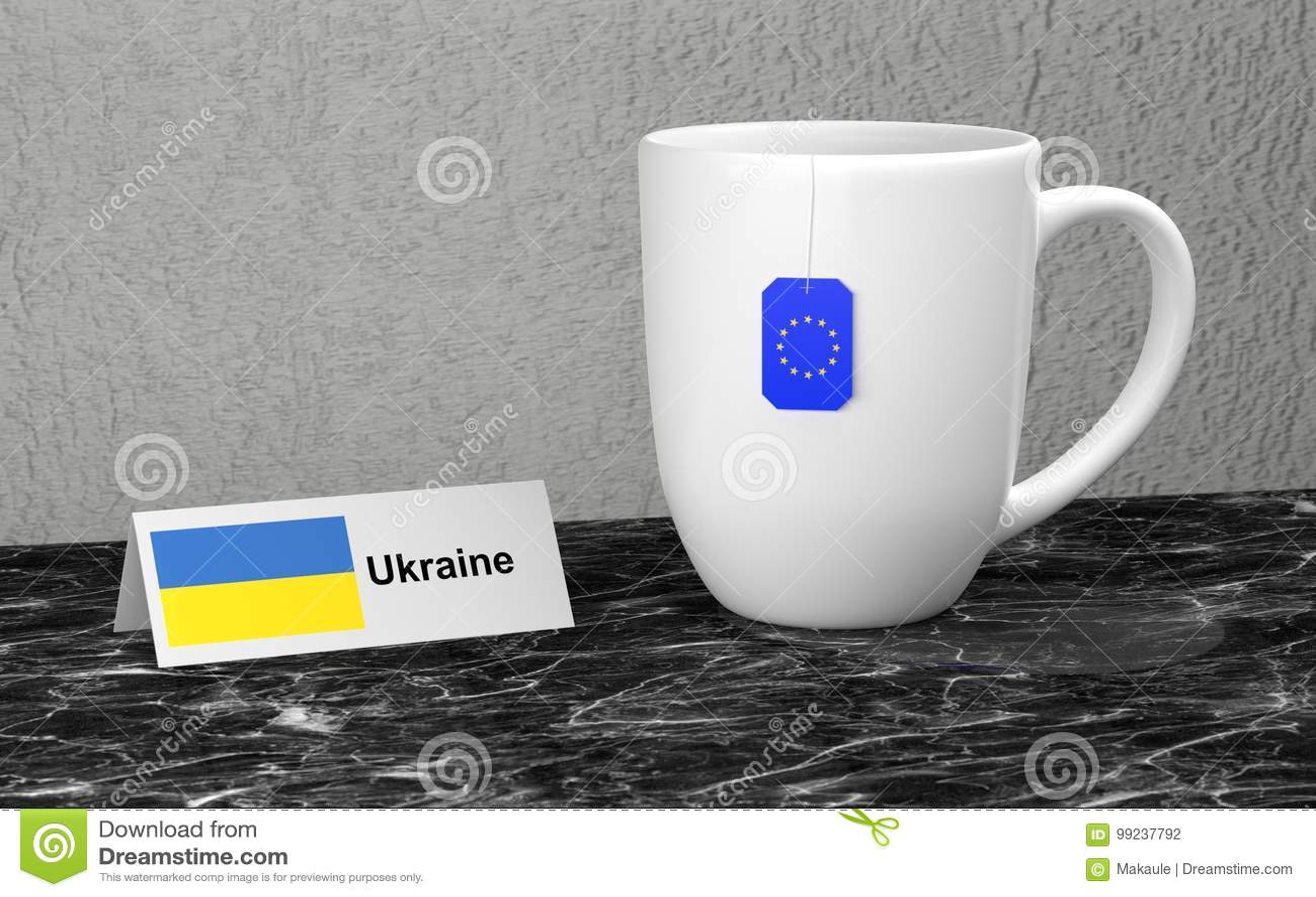 Μεγάλη κούπα με το τσάι
