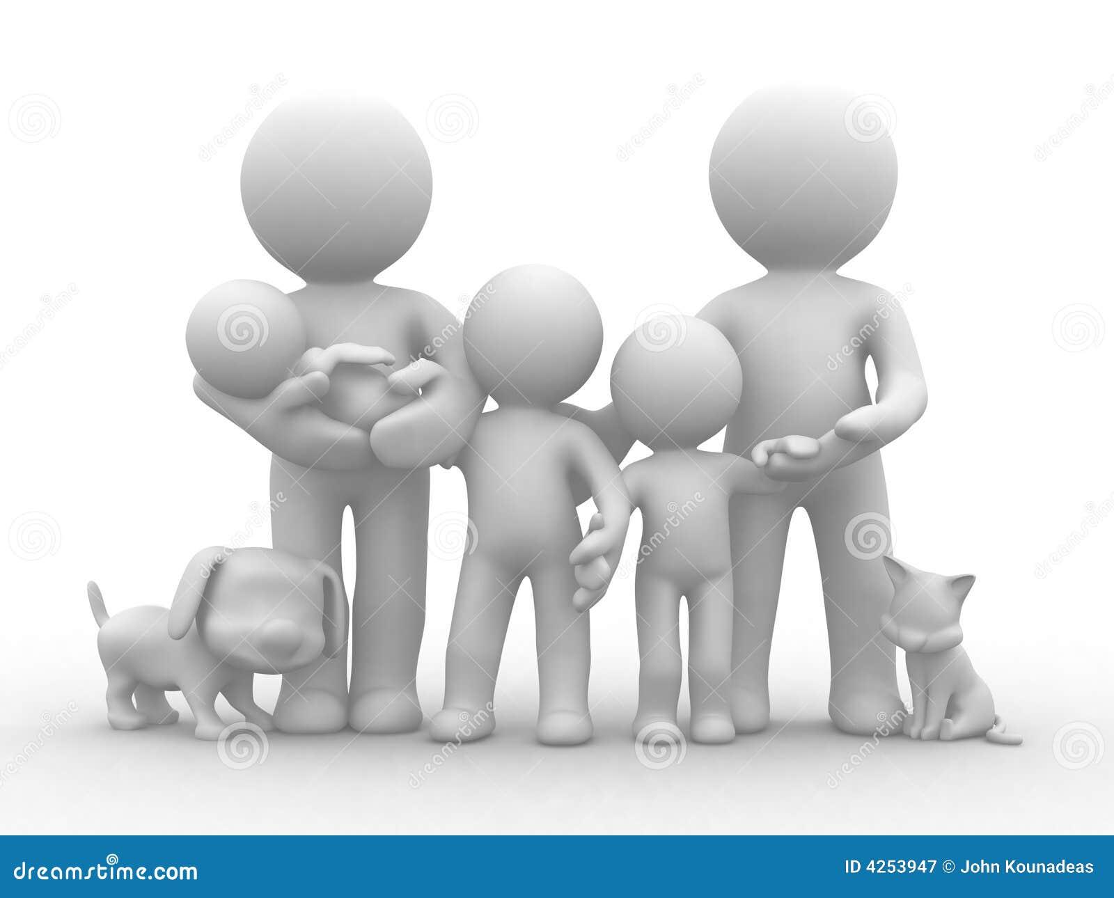 μεγάλη οικογένεια