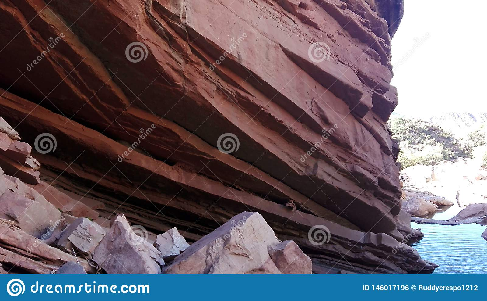 Μεγάλο ίζημα βράχου, Toro Toro - Βολιβία