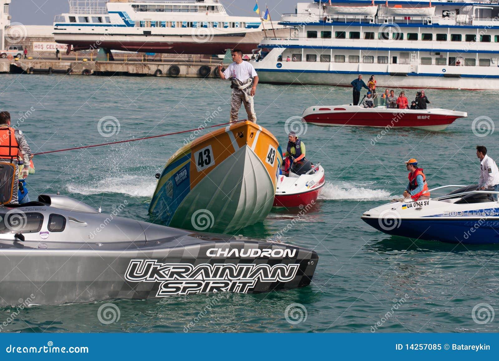 μεγάλο p1 powerboat prix yalta του 2010