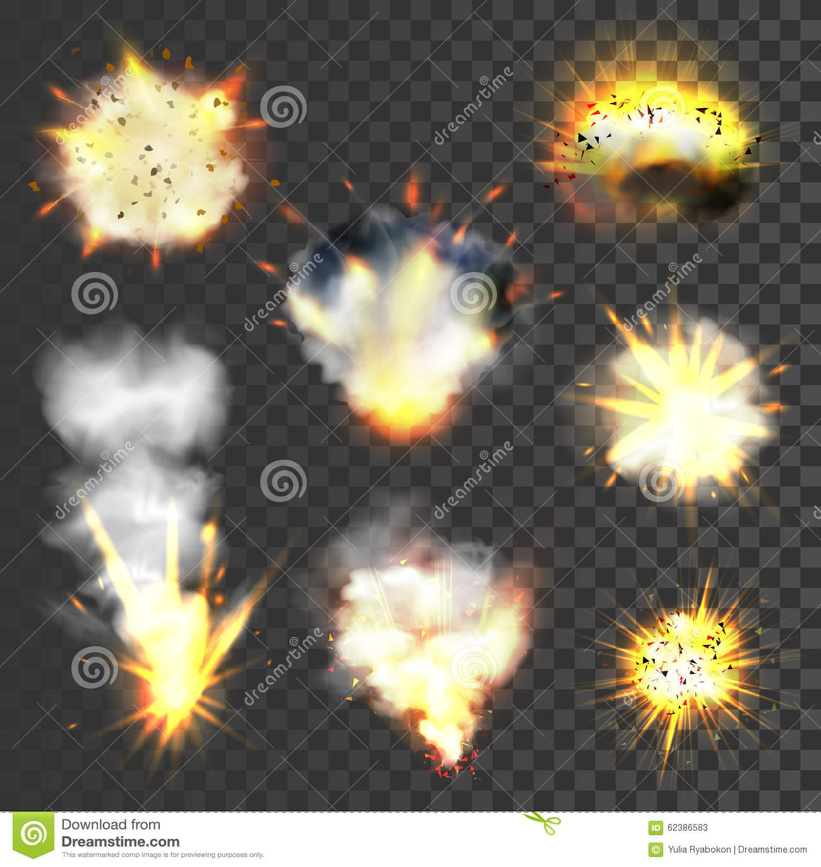 Μεγάλες εκρήξεις καθορισμένες