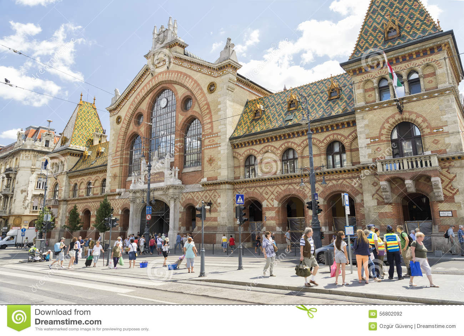 Μεγάλη αίθουσα αγοράς, Βουδαπέστη, Ουγγαρία