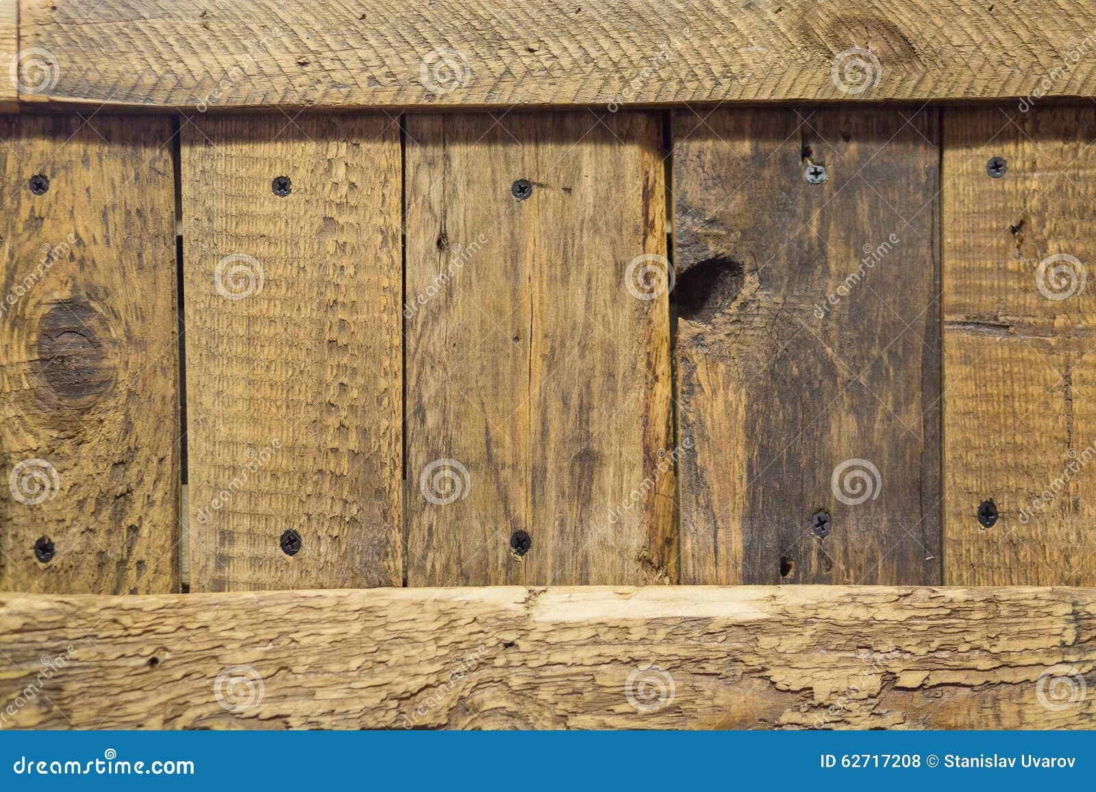Μεγάλη καφετιά ξύλινη σύσταση τοίχων σανίδων