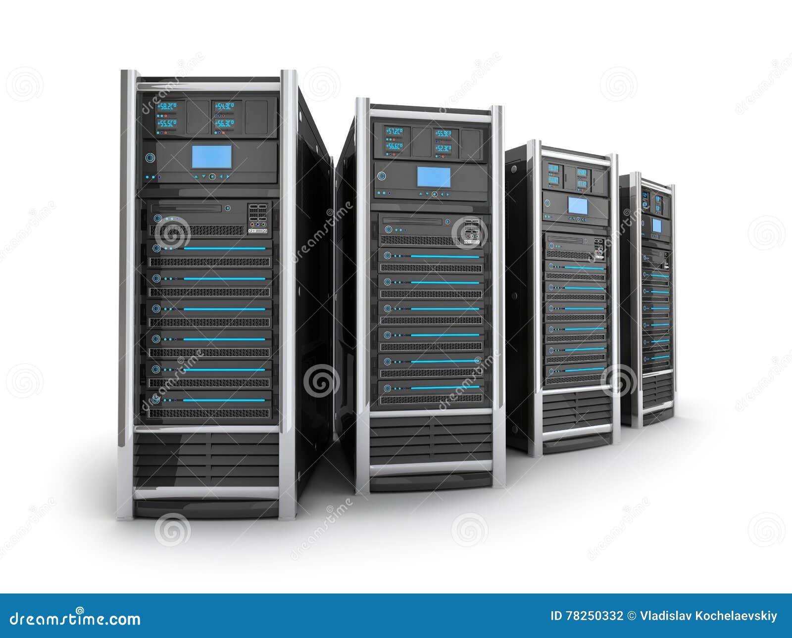 Μεγάλος κεντρικός υπολογιστής τέσσερα
