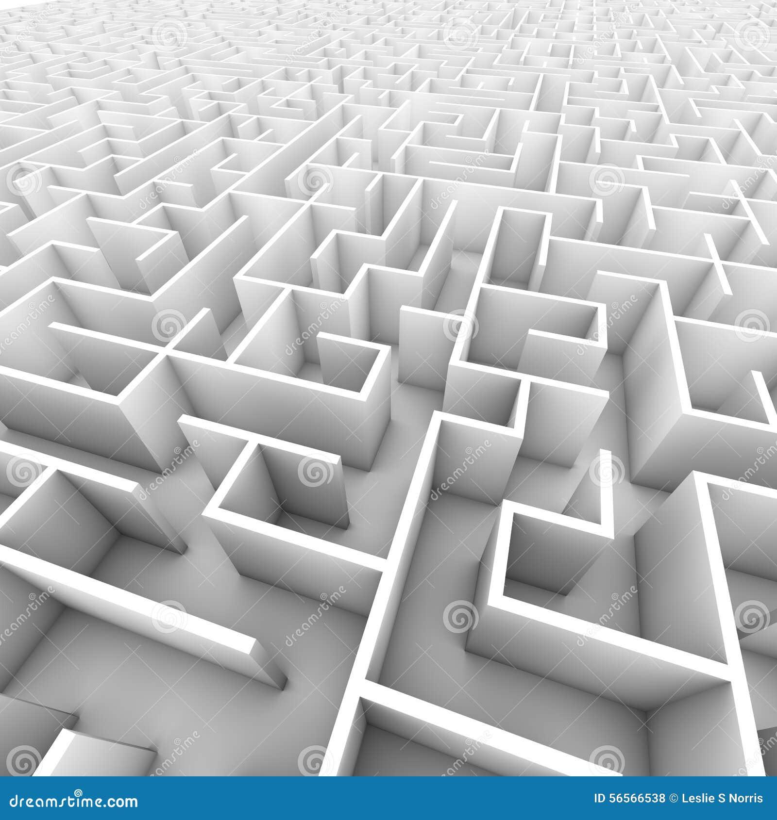 Download Μεγάλος φωτεινός άσπρος περιτοιχισμένος λαβύρινθος Απεικόνιση αποθεμάτων - εικονογραφία από εξερευνήστε, εξερεύνηση: 56566538