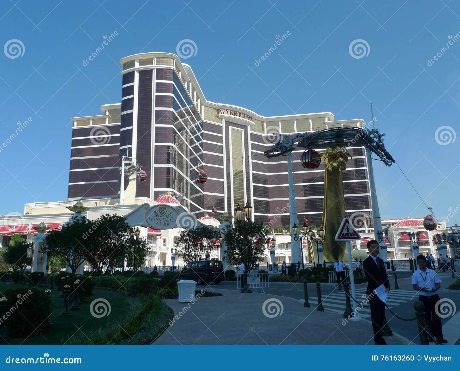 Μεγάλο άνοιγμα ξενοδοχείων παλατιών του Μακάο Wynn!
