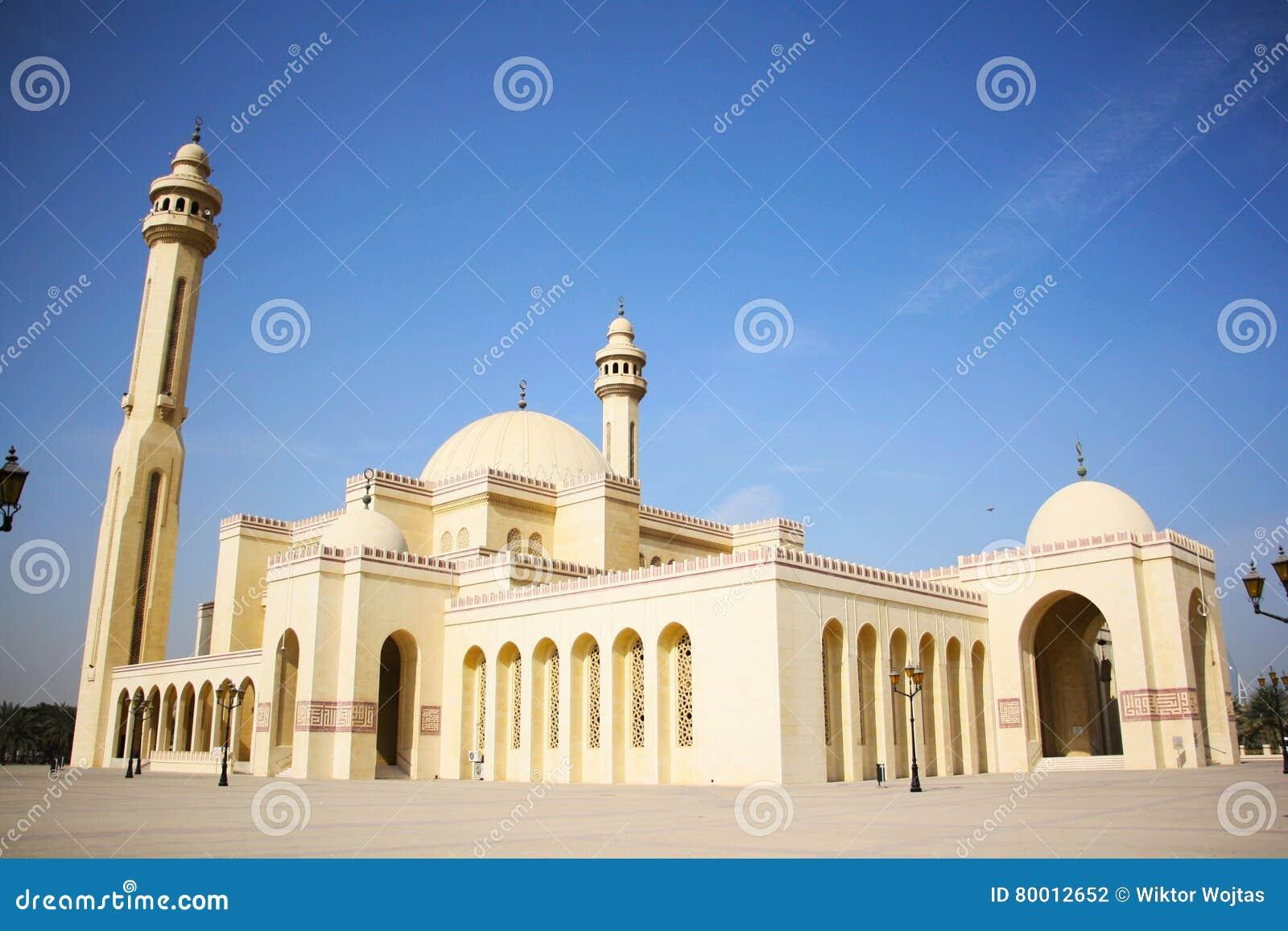 Μεγάλο μουσουλμανικό τέμενος Al Fateh σε Manama, Μπαχρέιν