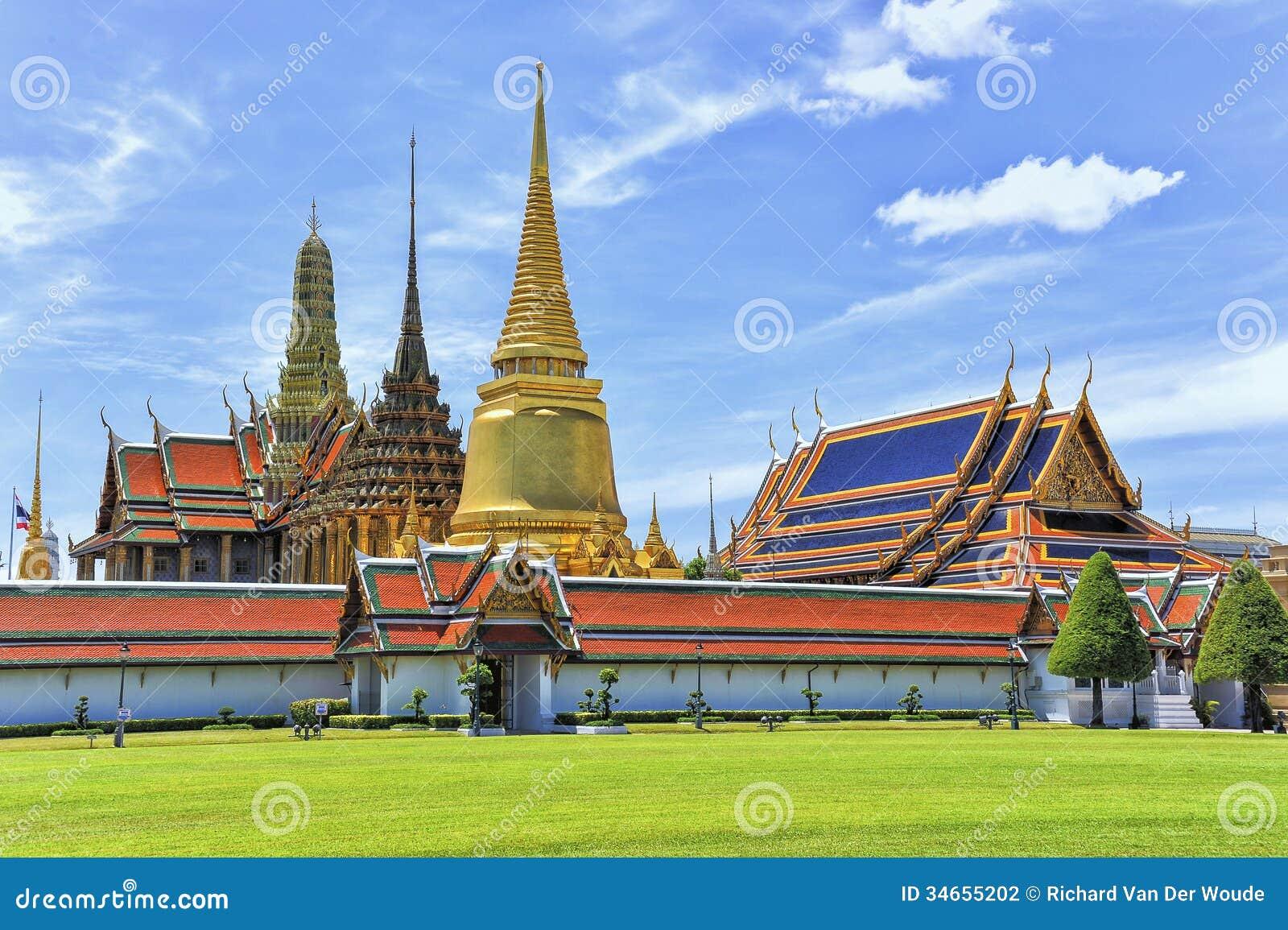 Μεγάλο παλάτι Μπανγκόκ Phra Kaew Wat