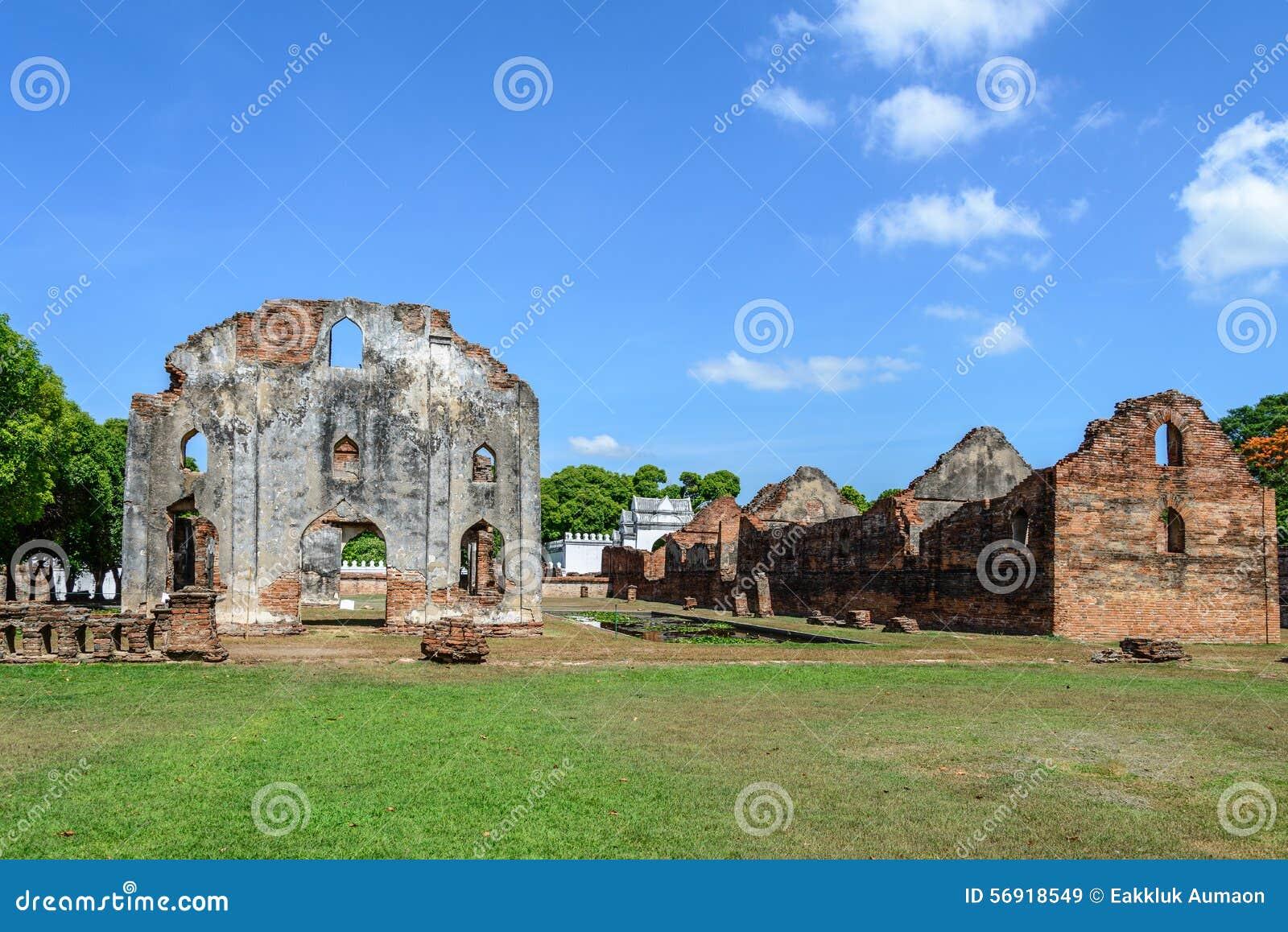 Μεγάλο παλάτι του βασιλιά Narai, βασιλιάς του βασίλειου Ayutthaya