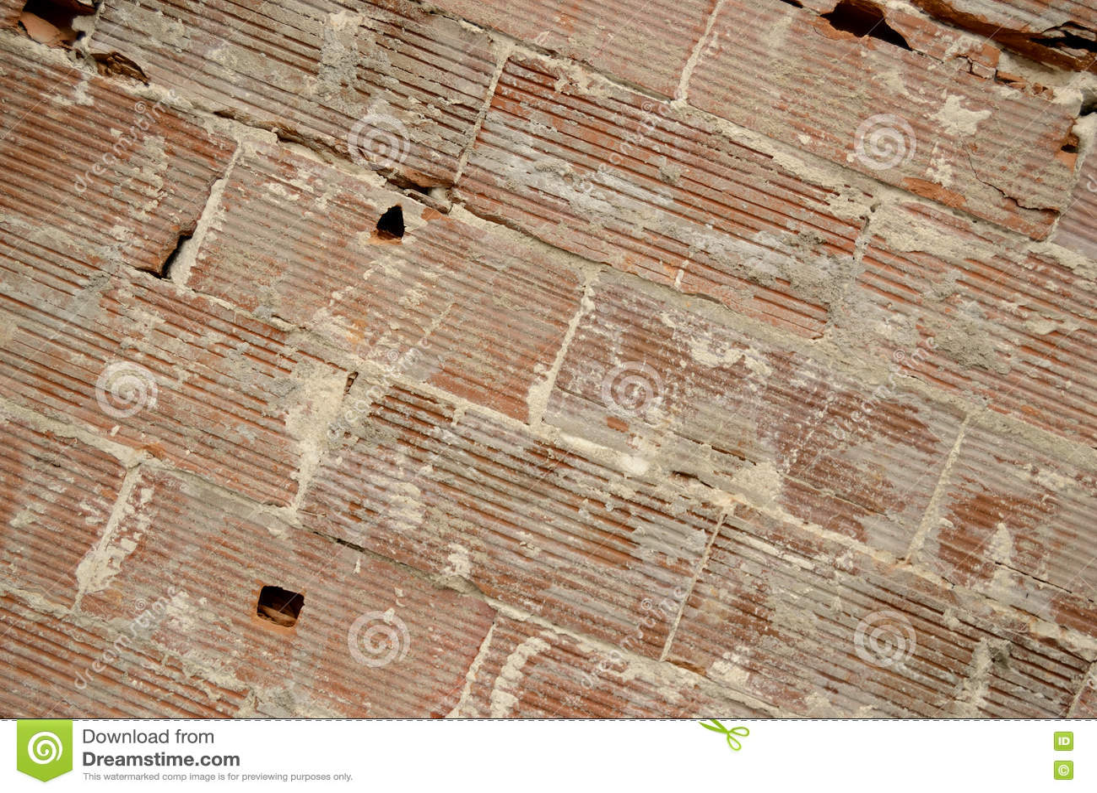 Μεγάλο υπόβαθρο τοίχων τούβλων παλαιό, διαγώνιες γραμμές