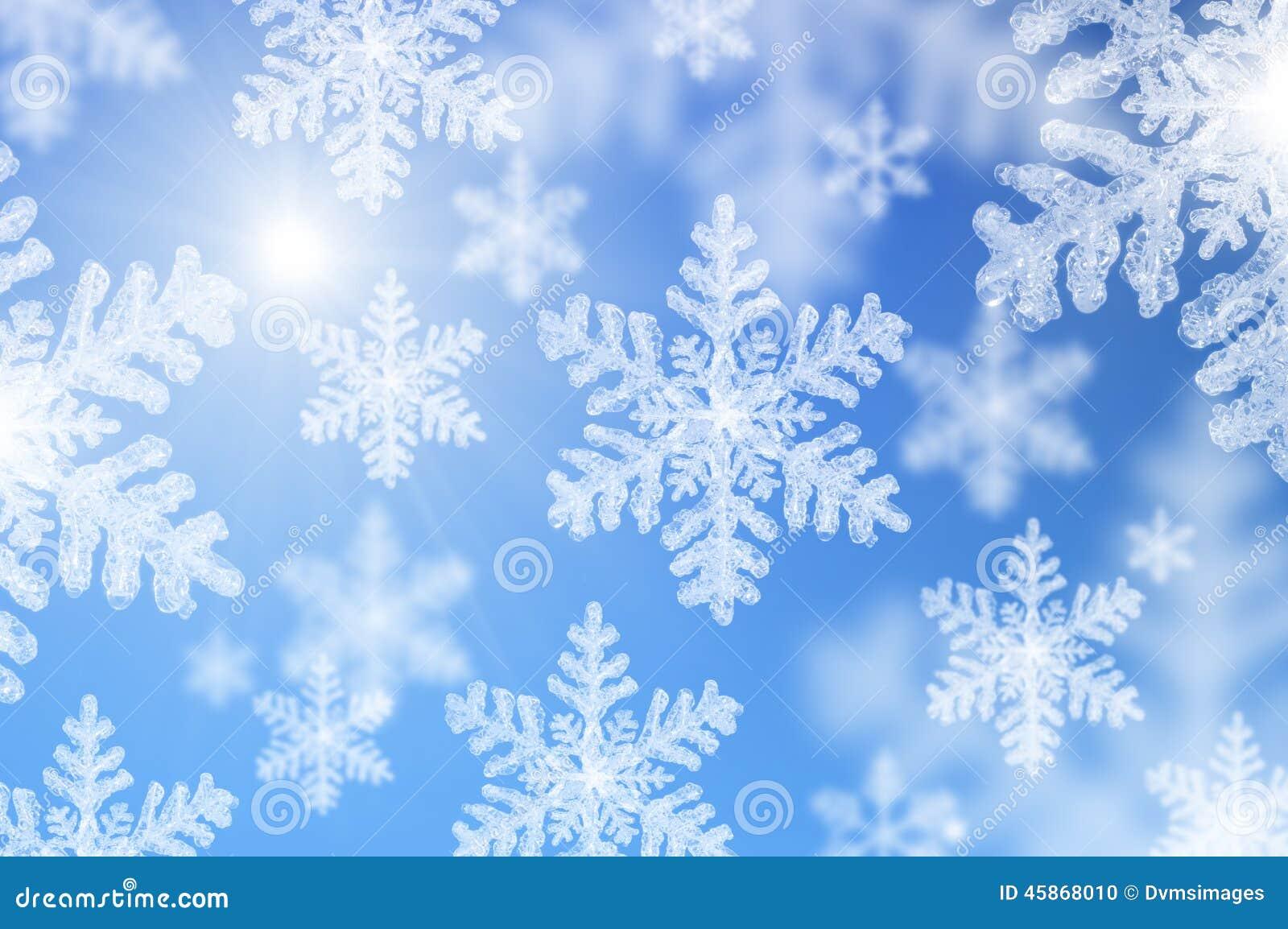 μειωμένα snowflakes