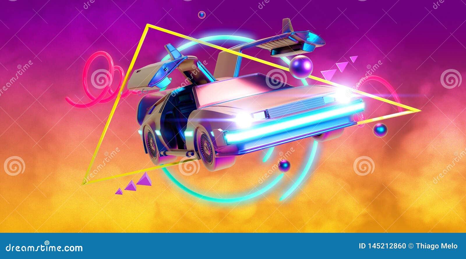 Μελλοντικό αυτοκίνητο, αναδρομικός 80ος
