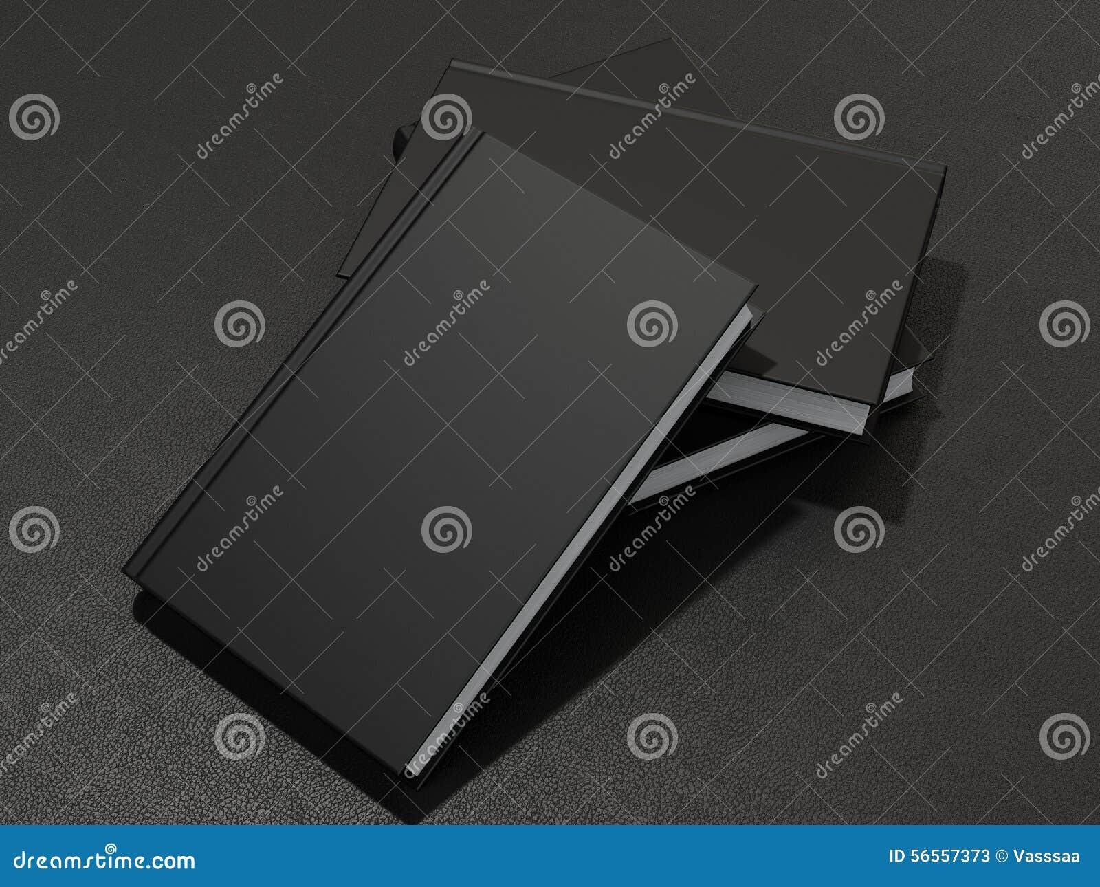Download Μερικά βιβλία με τη μαύρη κενή κάλυψη Απεικόνιση αποθεμάτων - εικονογραφία από επιχείρηση, ήπια: 56557373
