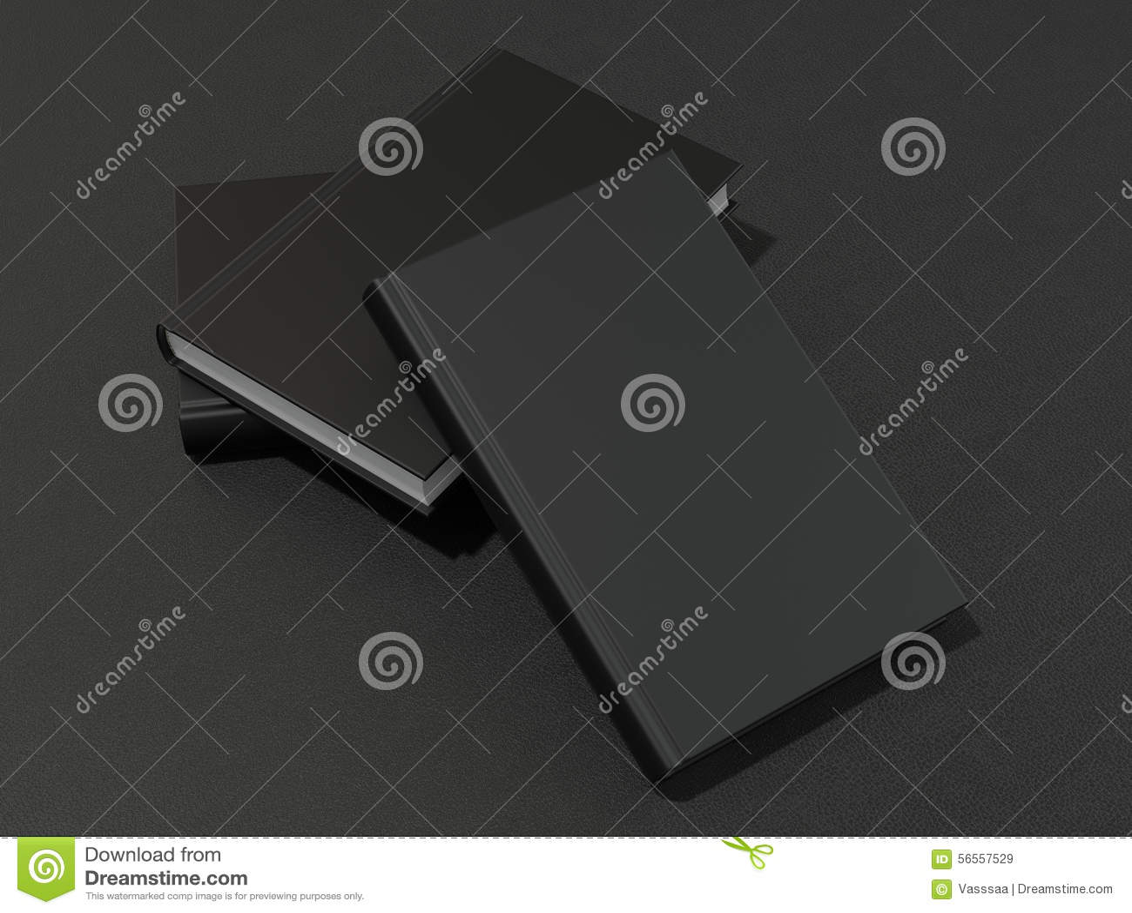 Download Μερικά βιβλία με τη μαύρη κενή κάλυψη Απεικόνιση αποθεμάτων - εικονογραφία από βιβλίων, hardcover: 56557529