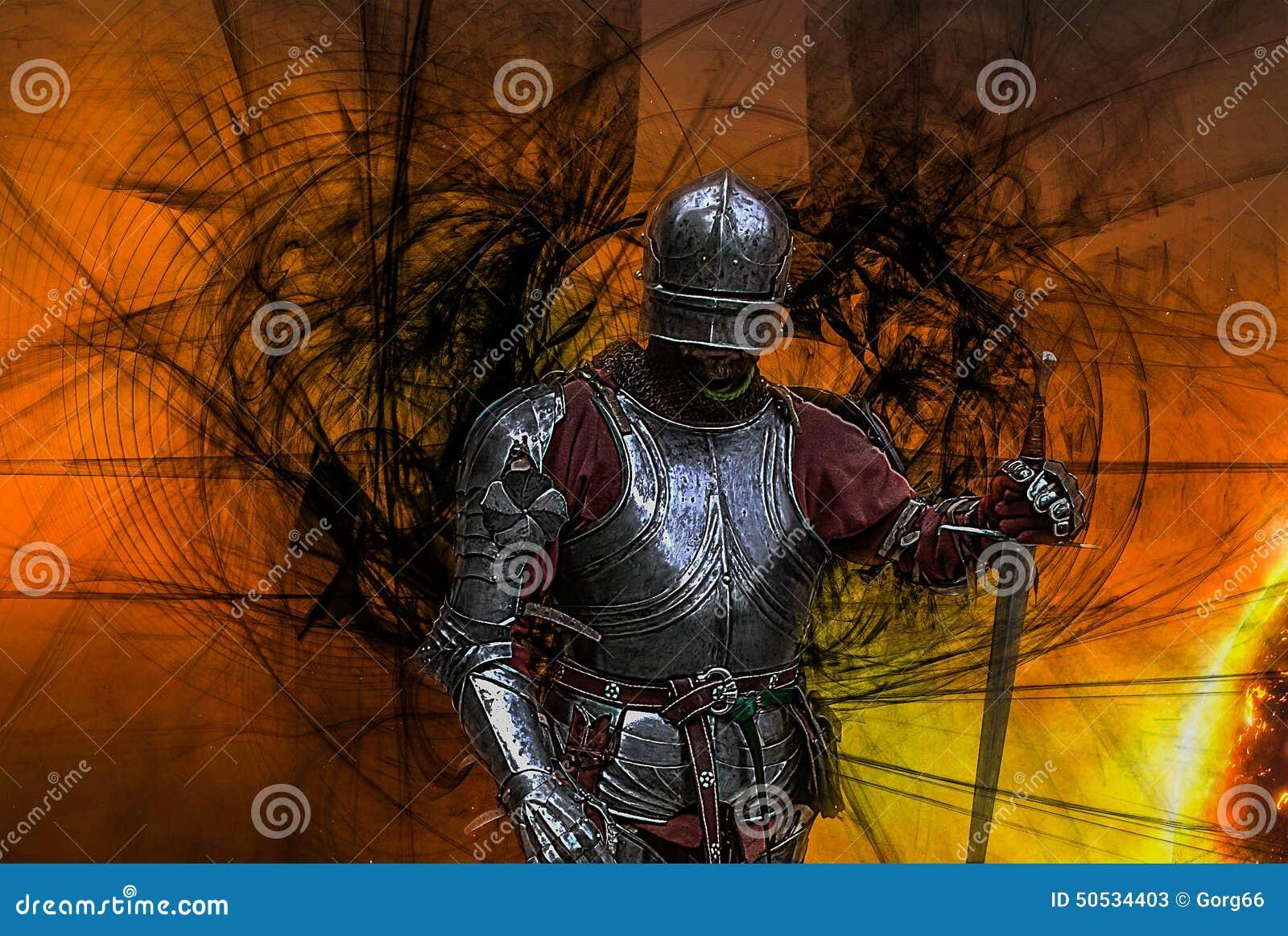 μεσαιωνικό πορτρέτο ιπποτών