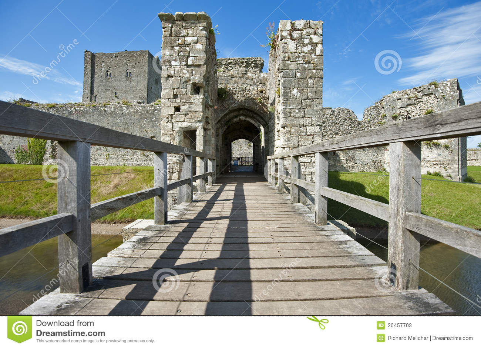 μεσαιωνικό portchester του Χάμπσαϊρ