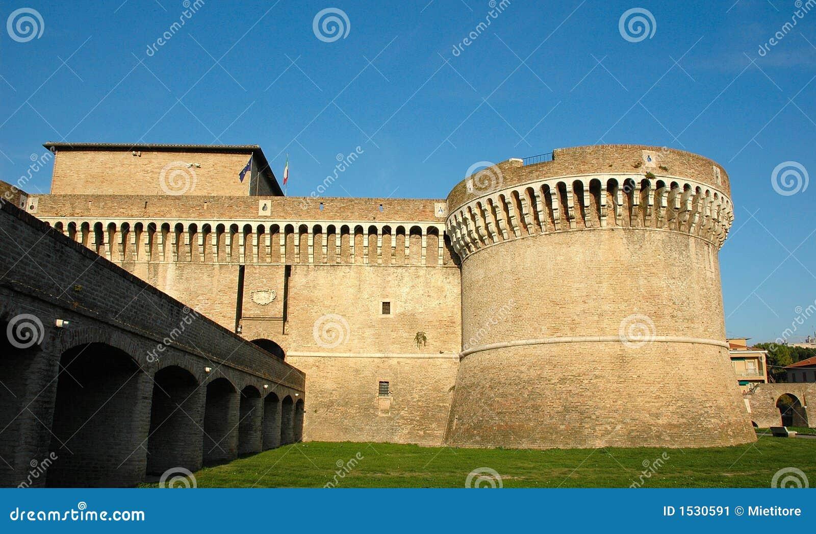 μεσαιωνικό senigallia rovere της Ιταλία