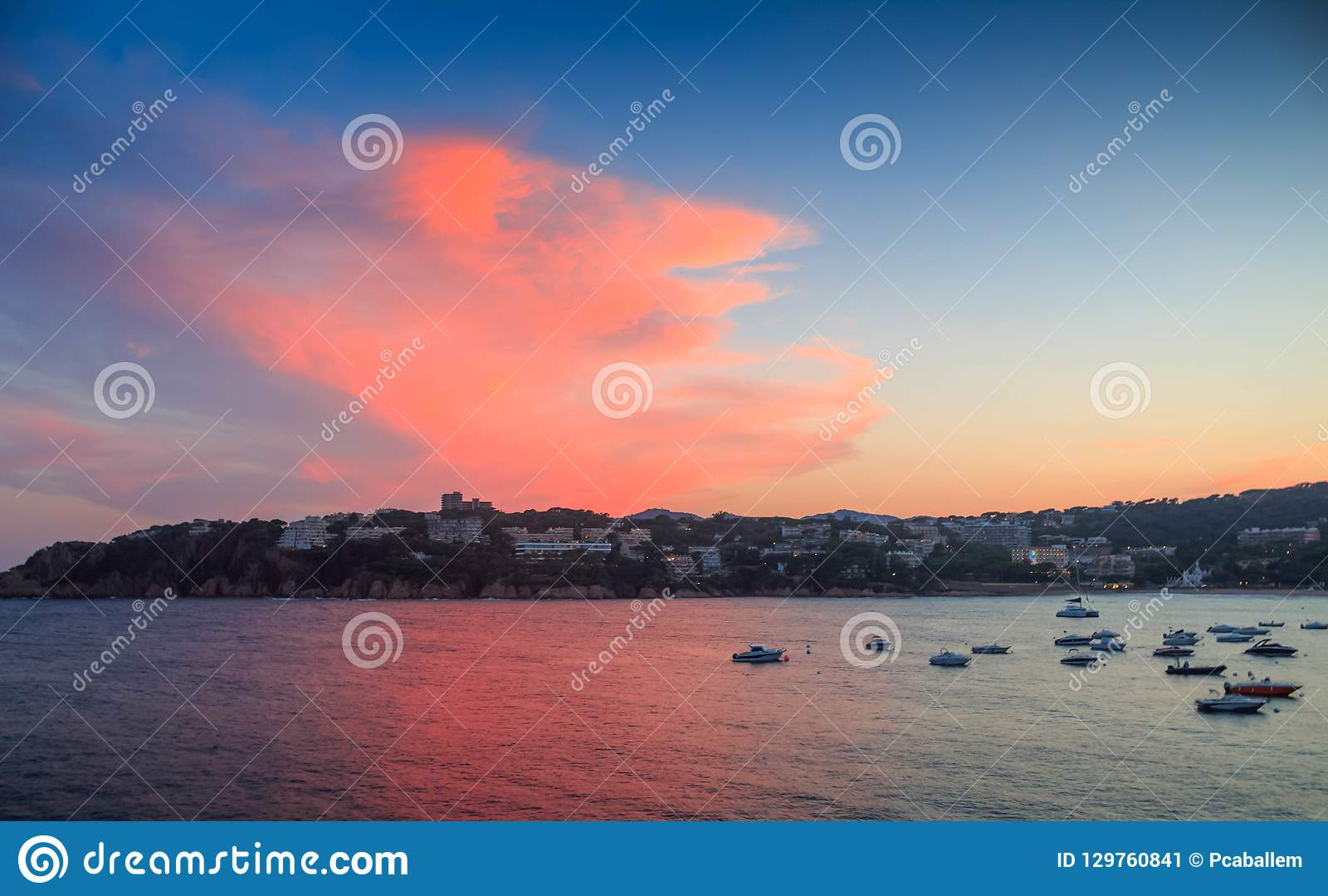 μεσογειακό viareggio ακτών