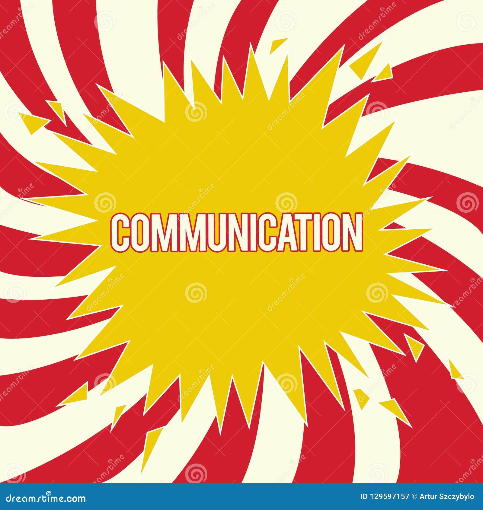 Μετάδοση κειμένων γραψίματος λέξης Επιχειρησιακή έννοια για τη μετάδοση ή την ανταλλαγή των πληροφοριών με την ομιλία του γραψίμα