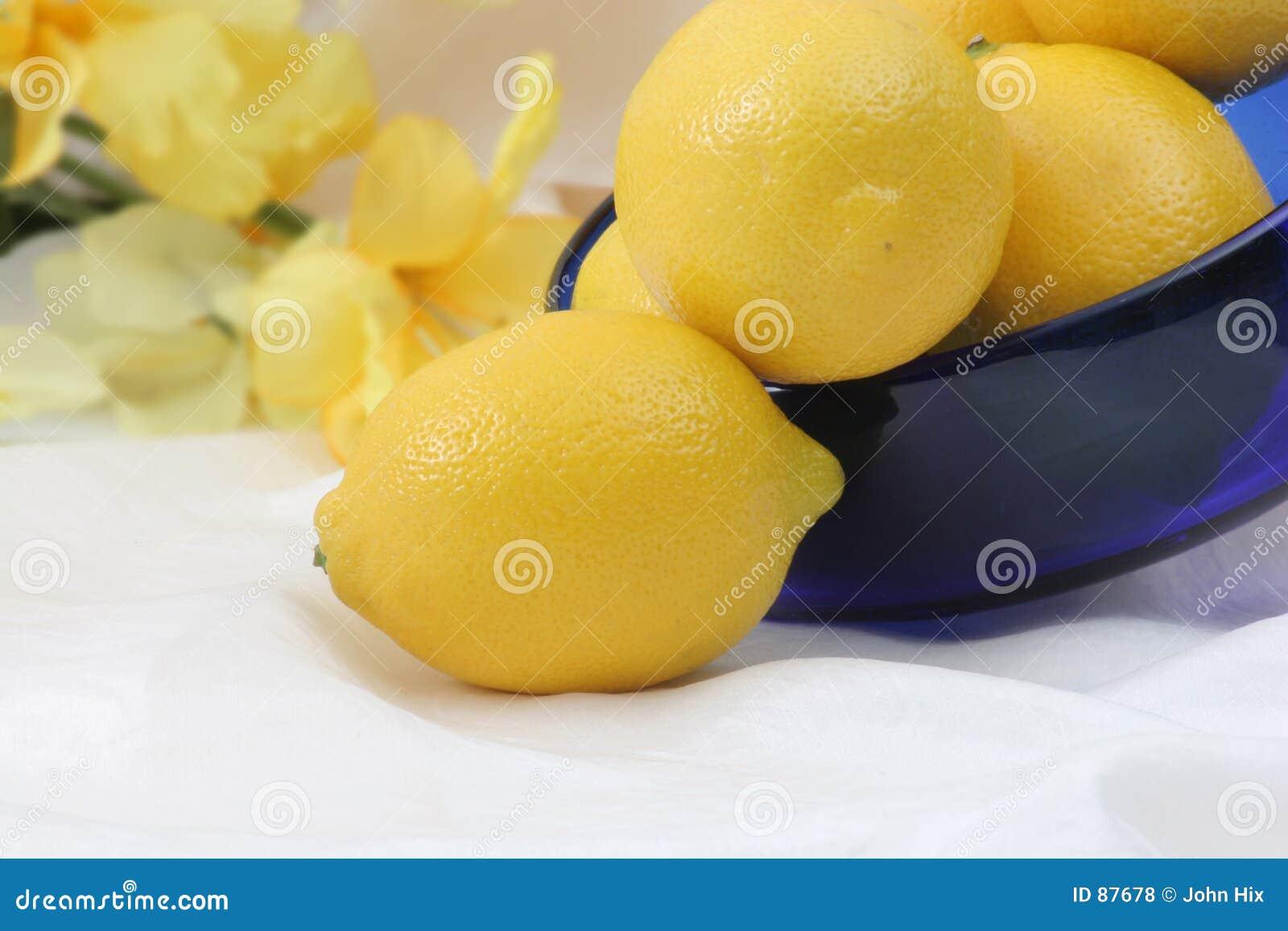 μετάξι λεμονιών κύπελλων