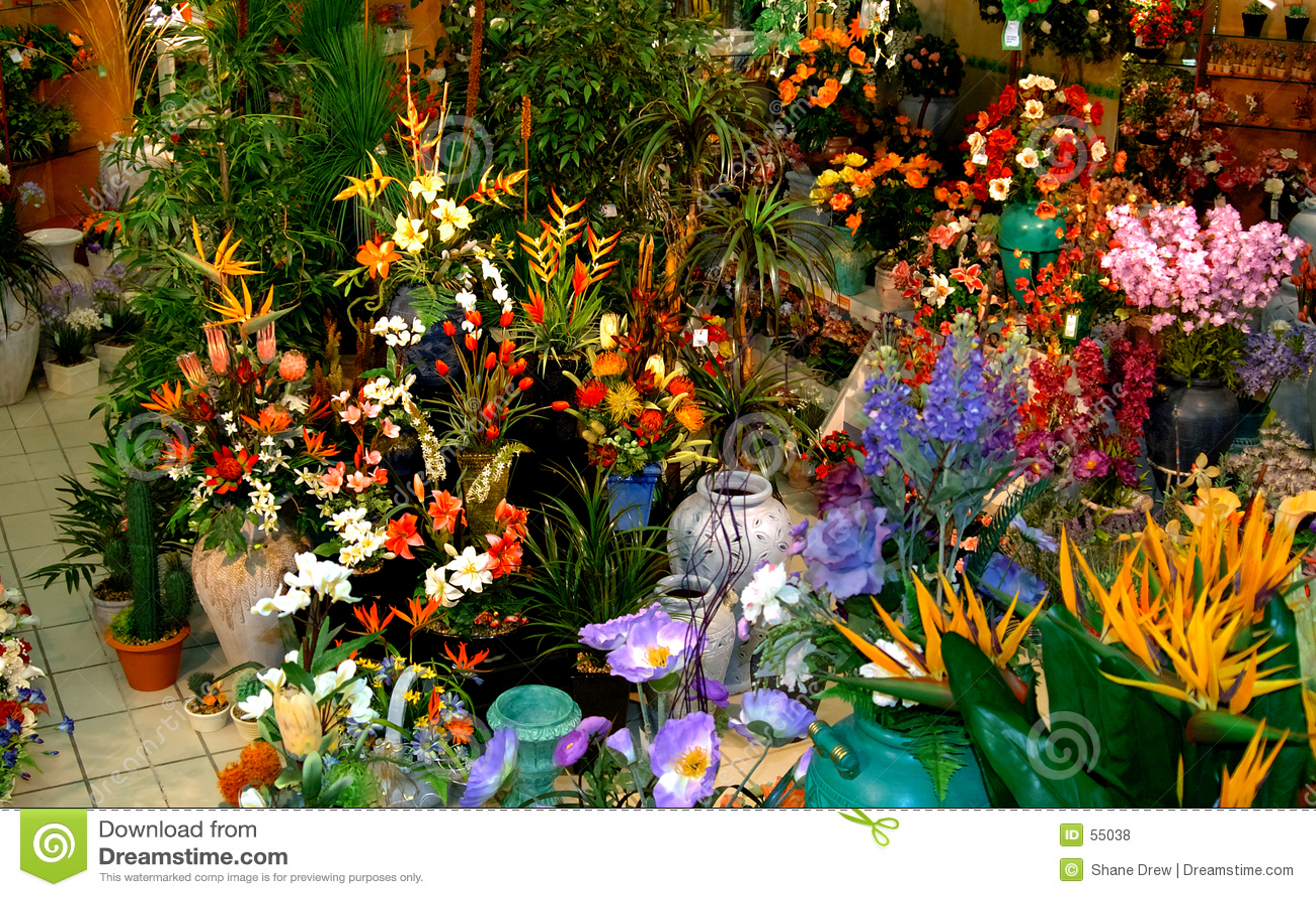 μετάξι λουλουδιών