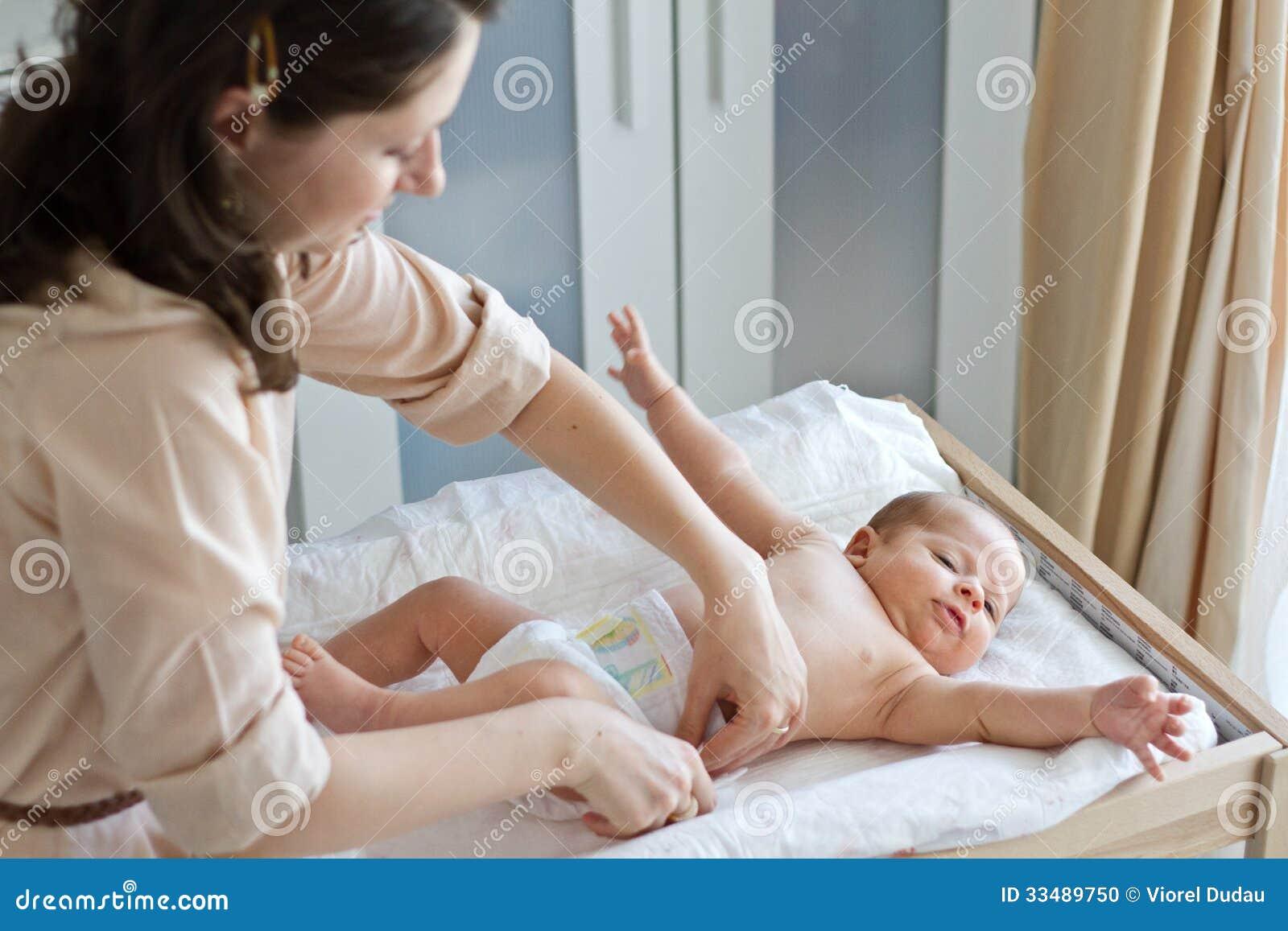Μεταβαλλόμενες πάνες μητέρων