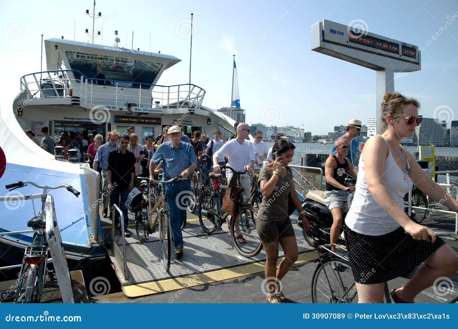 Μεταφορές πορθμείων στο Άμστερνταμ