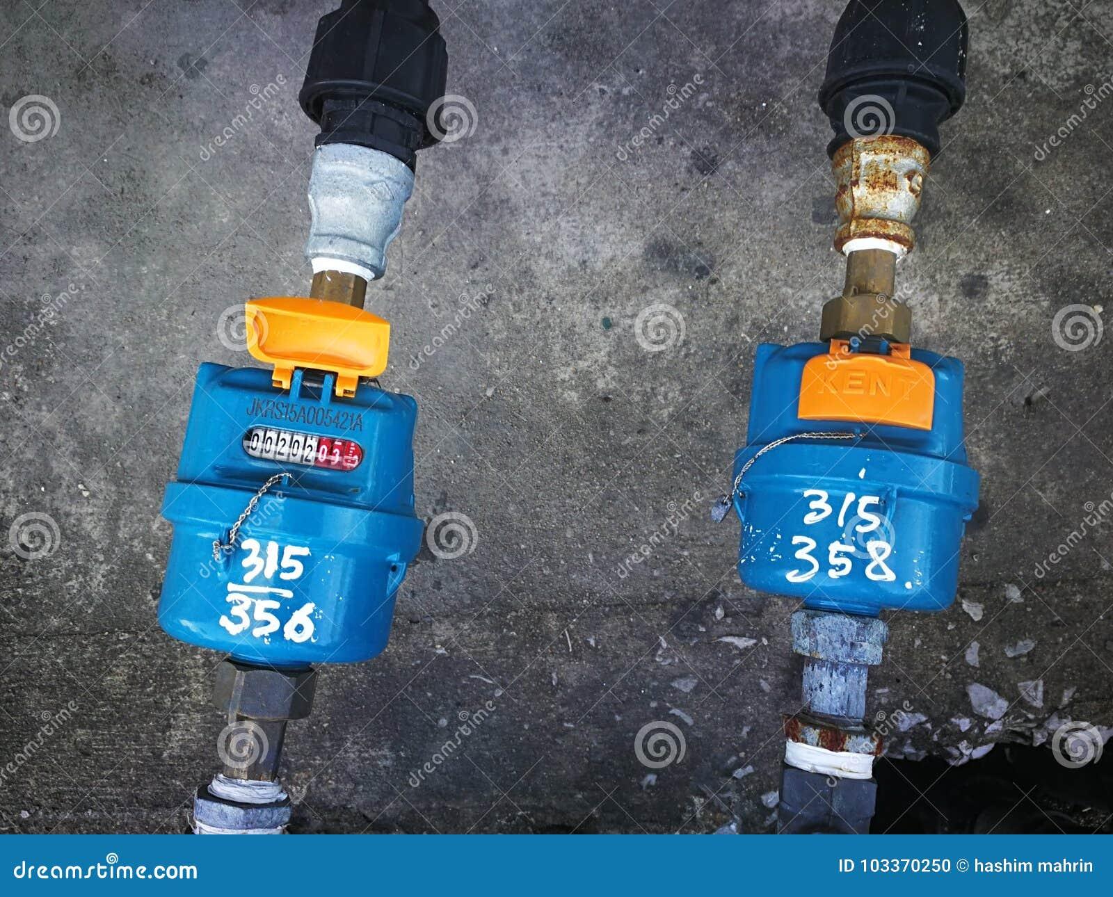 Μετρητής υδροσωλήνων