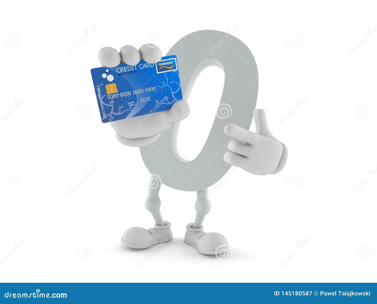 Μηά πιστωτική κάρτα εκμετάλλευσης χαρακτήρα