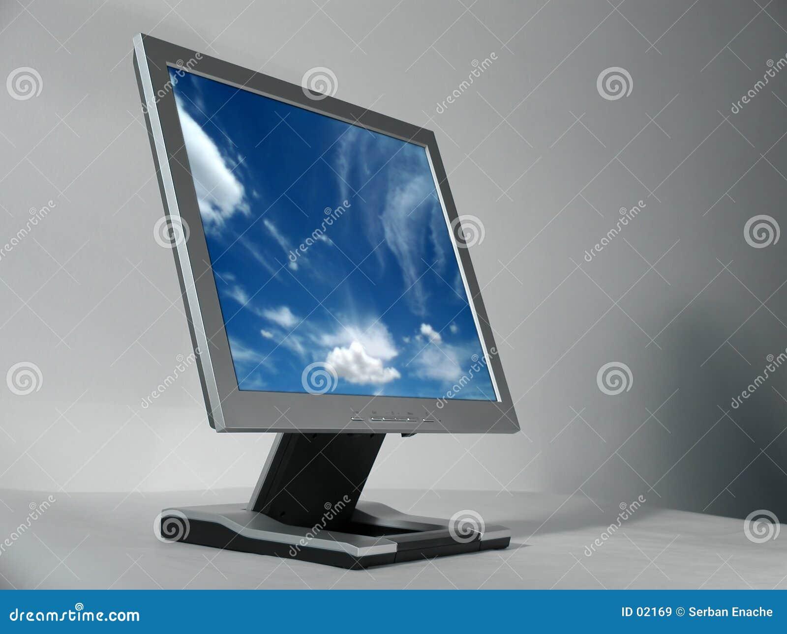 μηνύτορας υπολογιστών LCD