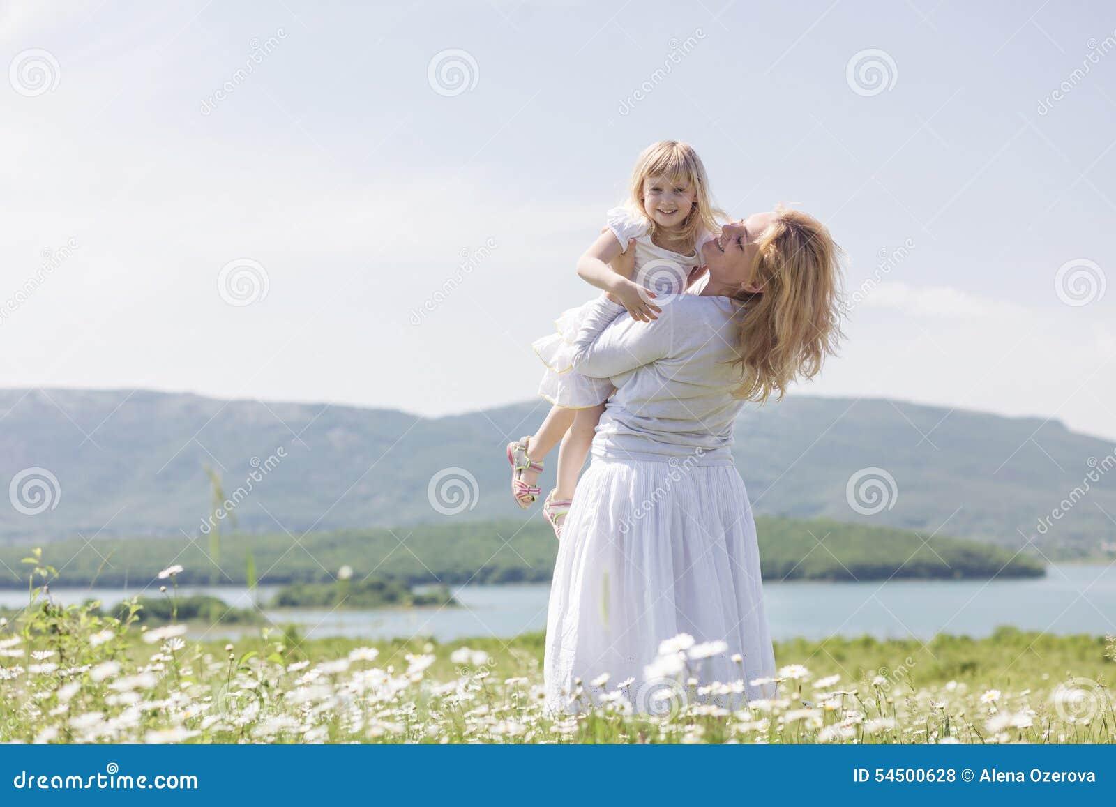 Μητέρα με την κόρη