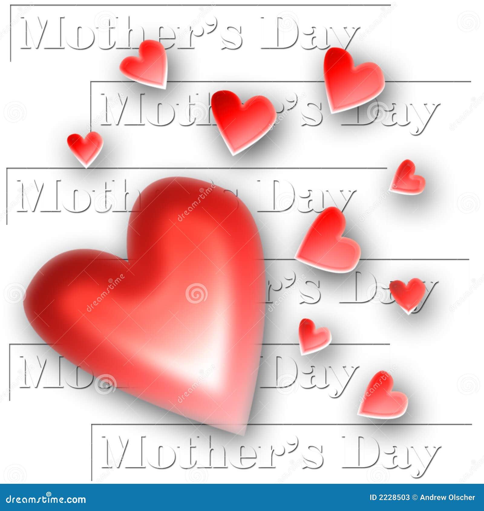 μητέρα s καρδιών ημέρας κολάζ